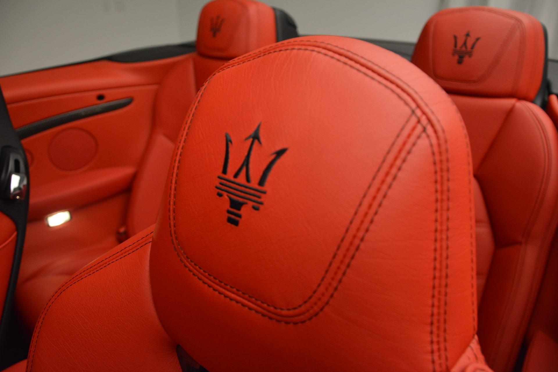 New 2017 Maserati GranTurismo Cab Sport For Sale In Westport, CT 687_p24