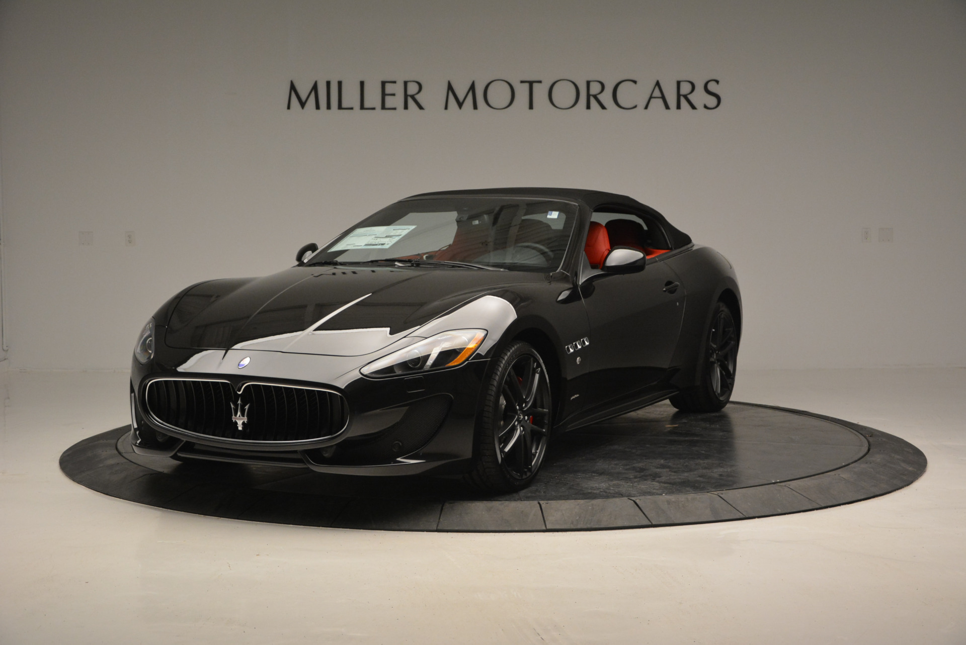 New 2017 Maserati GranTurismo Cab Sport For Sale In Westport, CT 687_p2