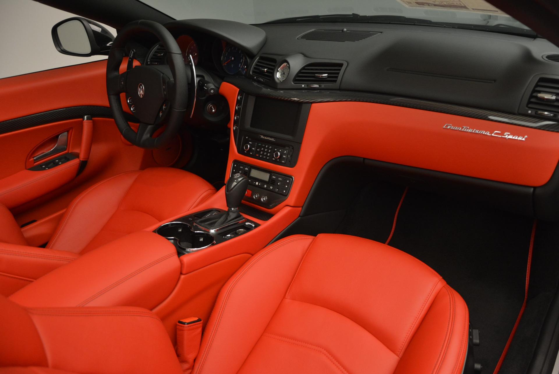 New 2017 Maserati GranTurismo Cab Sport For Sale In Westport, CT 687_p32
