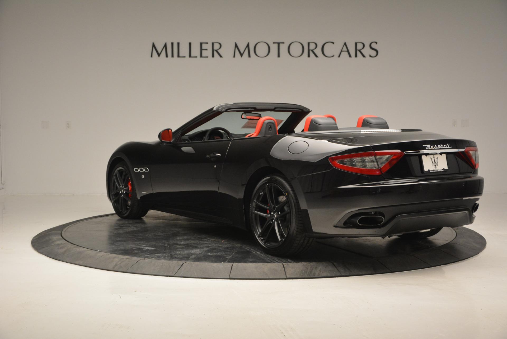 New 2017 Maserati GranTurismo Cab Sport For Sale In Westport, CT 687_p8