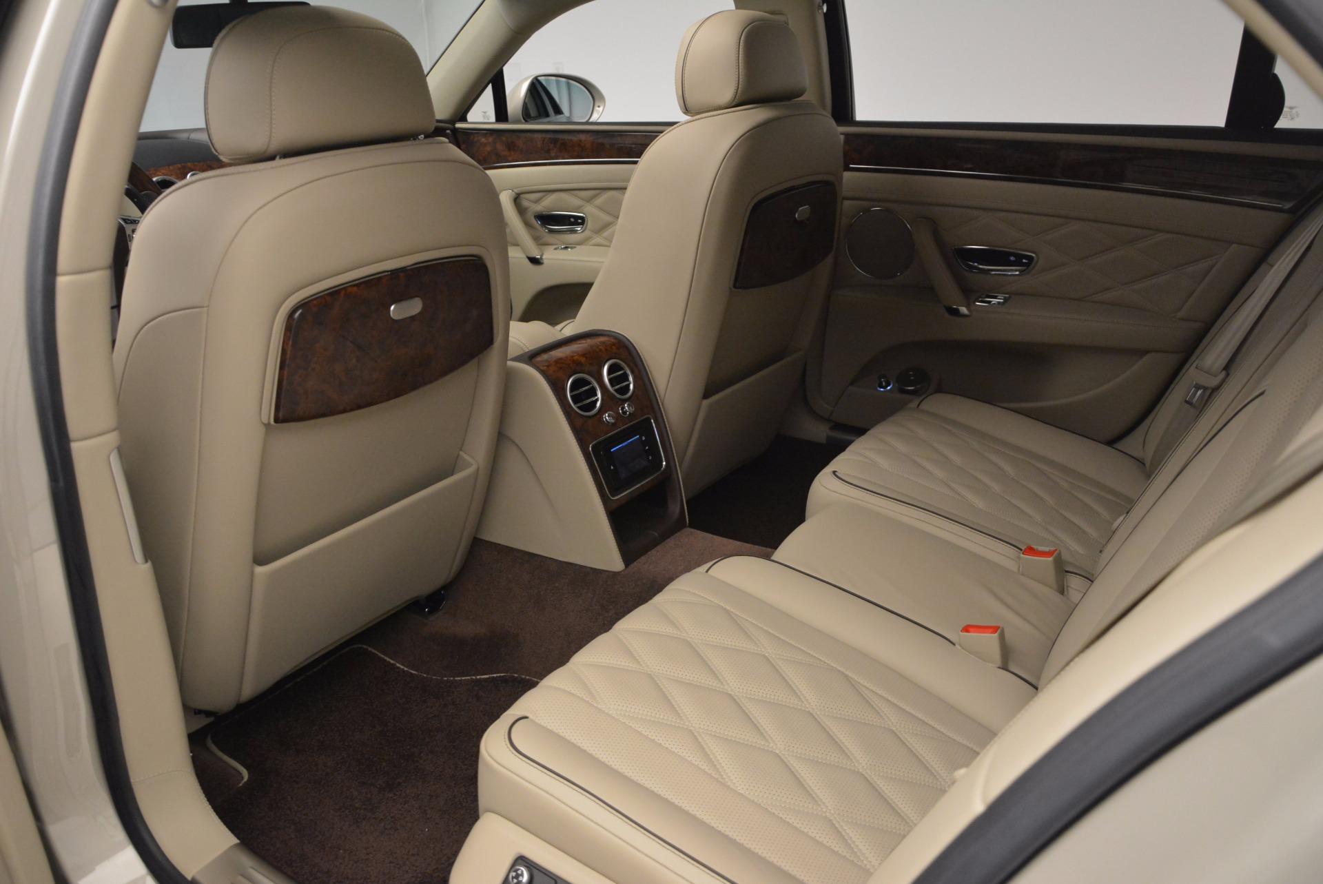 Used 2015 Bentley Flying Spur W12  For Sale In Westport, CT 694_p30
