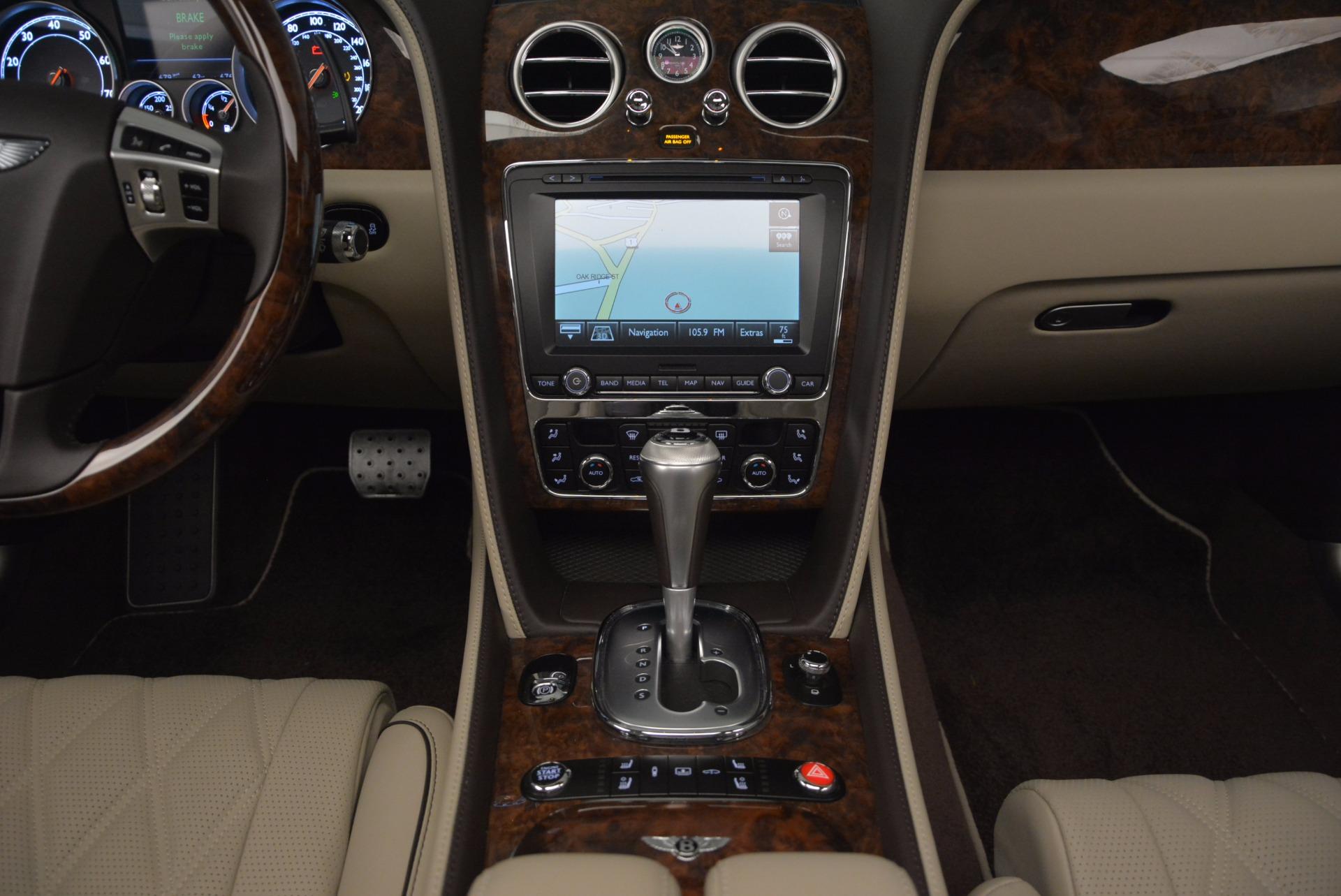 Used 2015 Bentley Flying Spur W12  For Sale In Westport, CT 694_p36