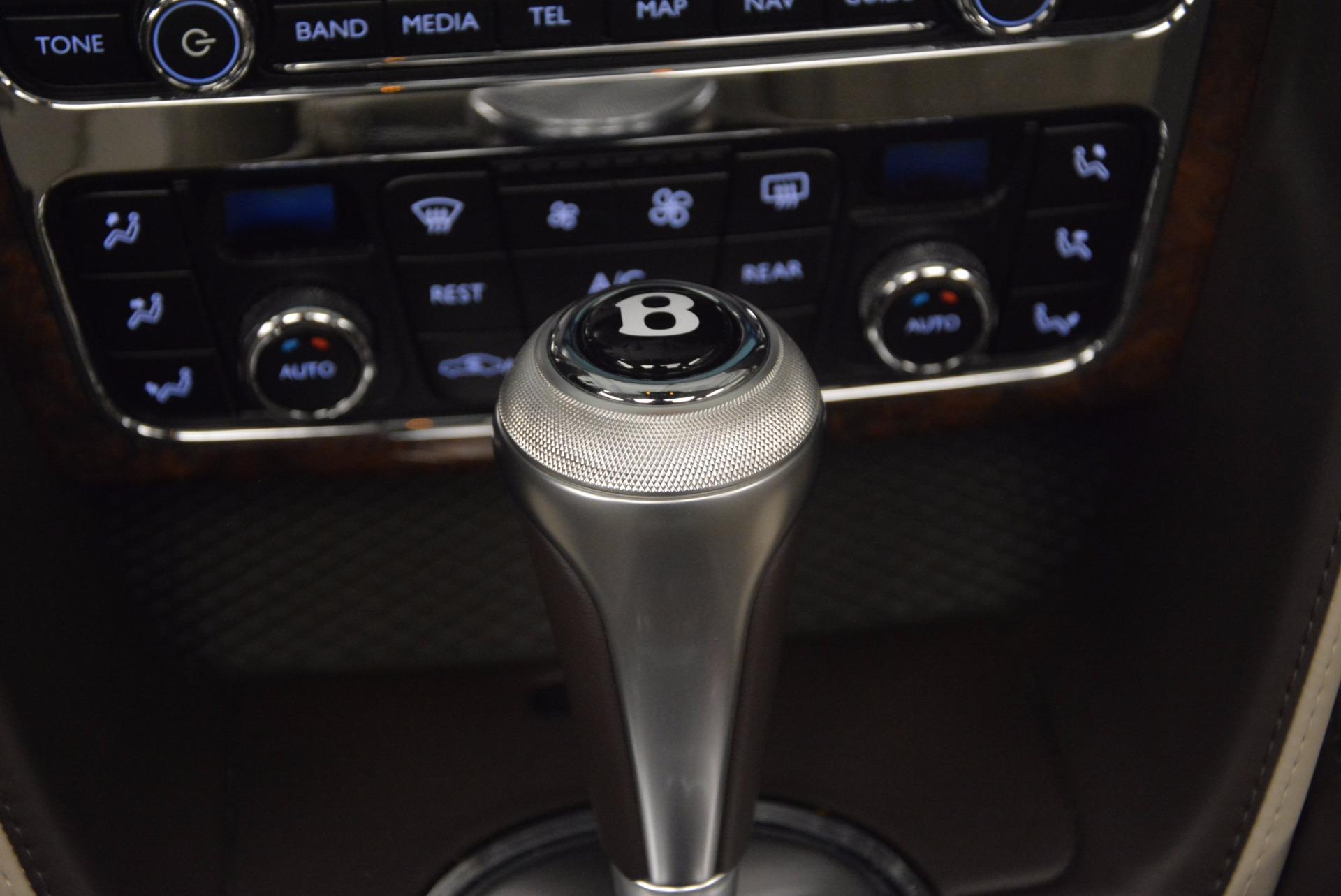 Used 2015 Bentley Flying Spur W12  For Sale In Westport, CT 694_p37