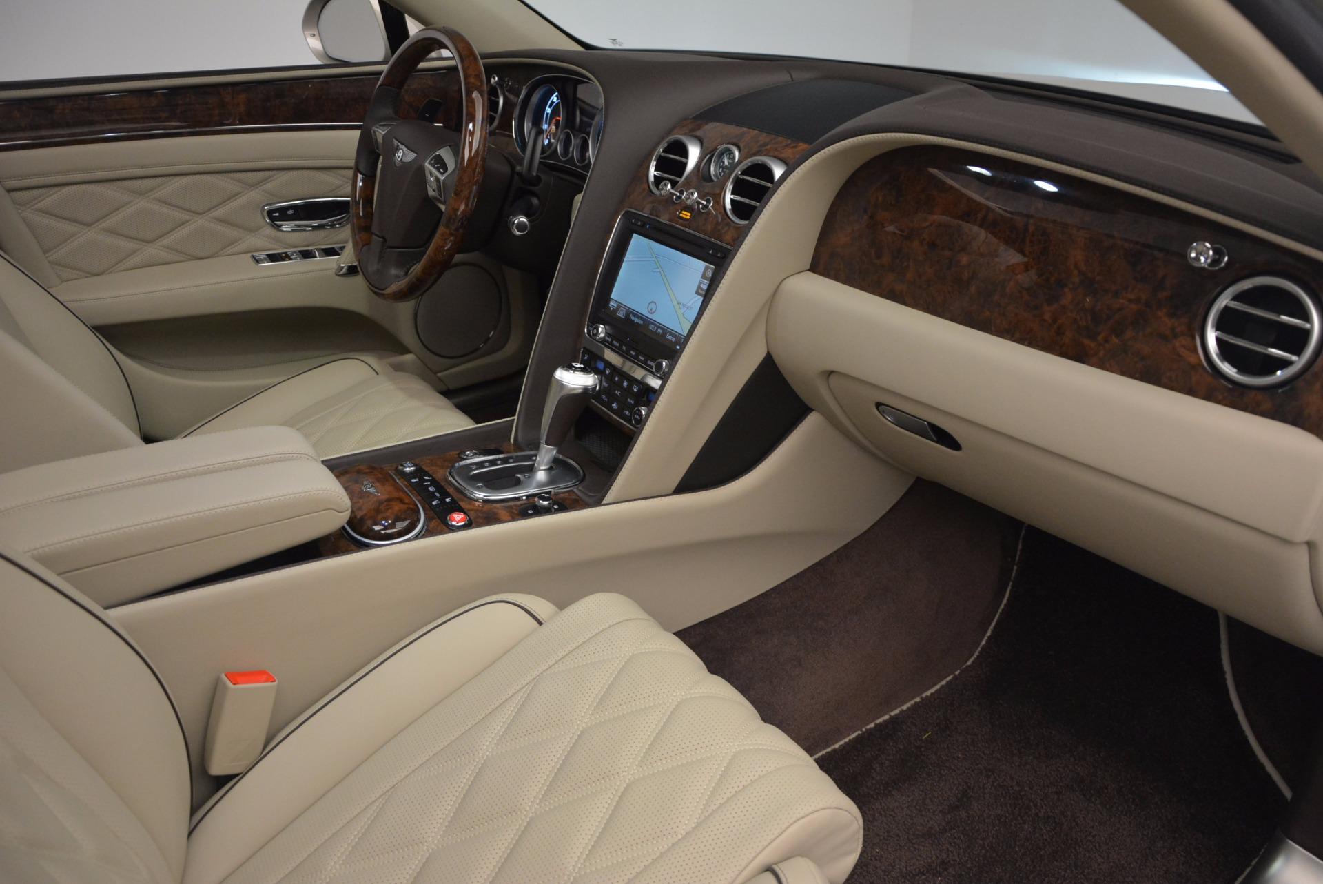 Used 2015 Bentley Flying Spur W12  For Sale In Westport, CT 694_p40
