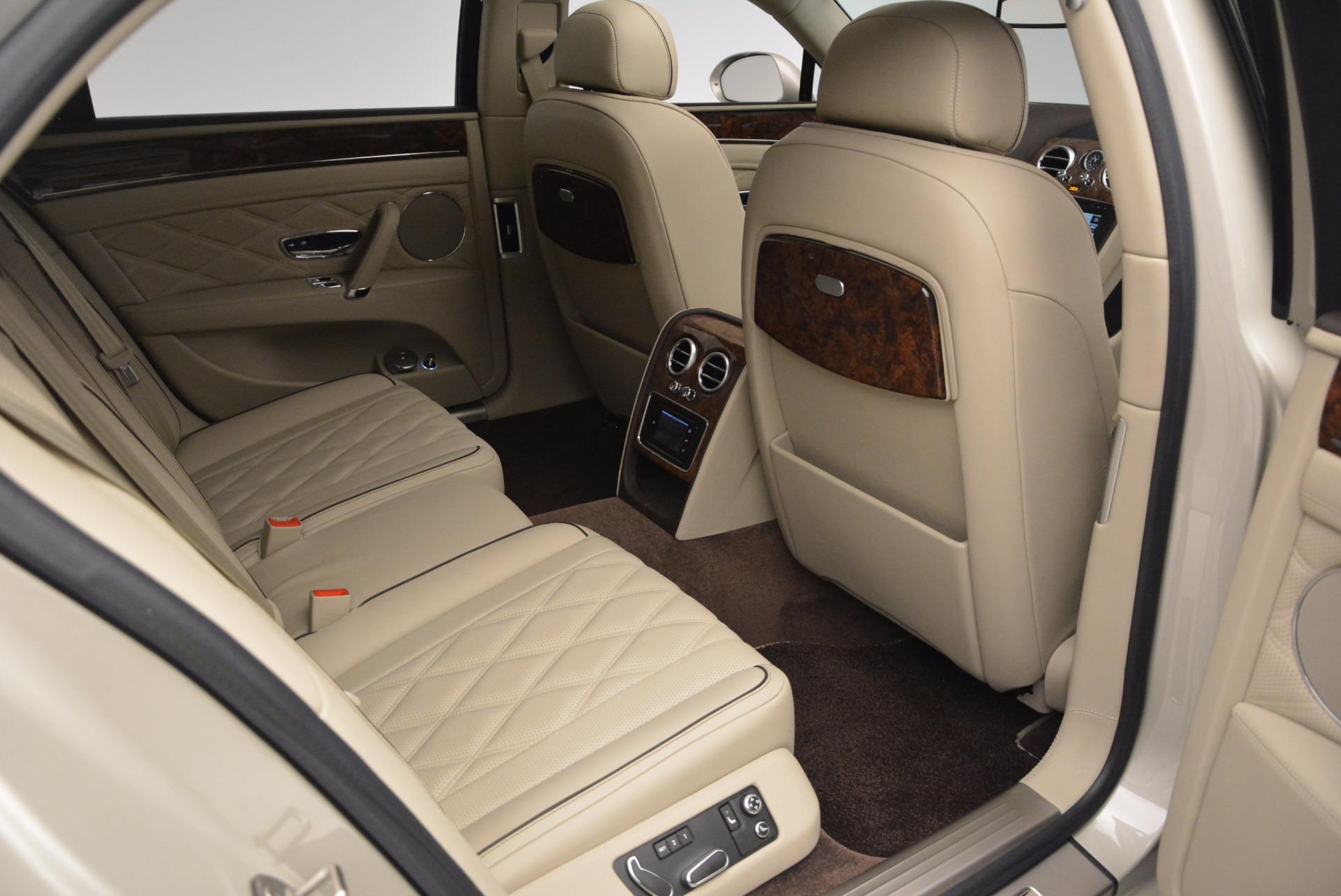 Used 2015 Bentley Flying Spur W12  For Sale In Westport, CT 694_p44