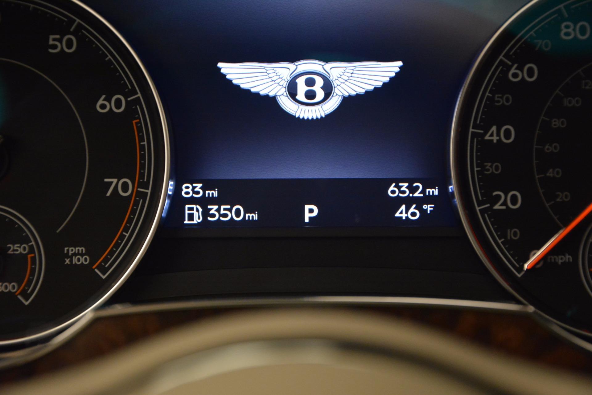 Used 2017 Bentley Bentayga  For Sale In Westport, CT 695_p52