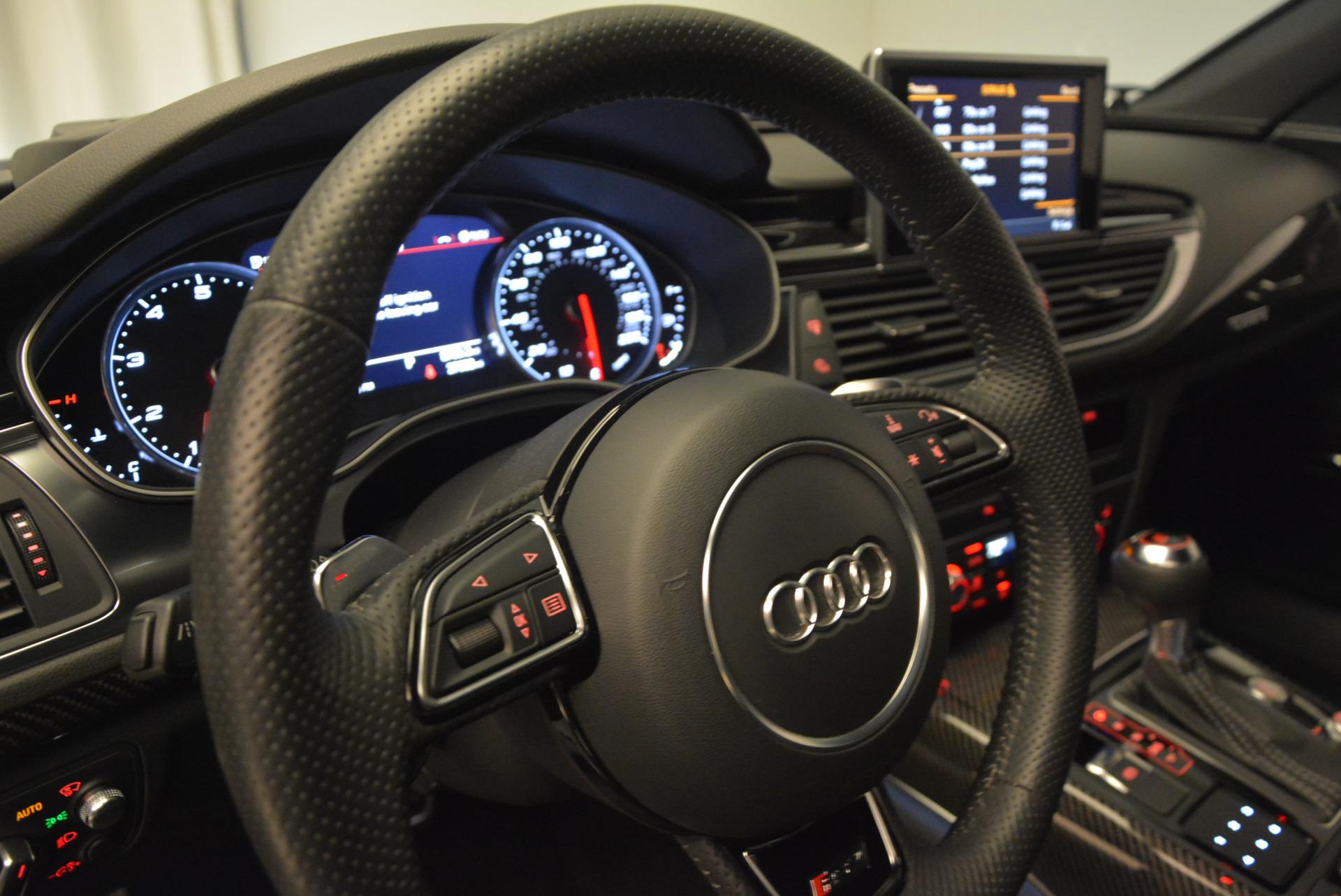 Used 2014 Audi RS 7 4.0T quattro Prestige For Sale In Westport, CT 707_p18