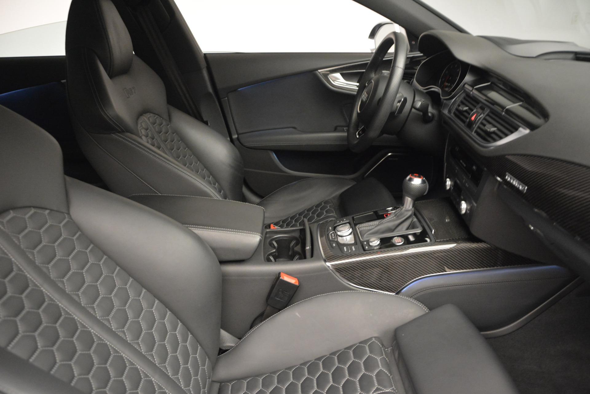 Used 2014 Audi RS 7 4.0T quattro Prestige For Sale In Westport, CT 707_p24