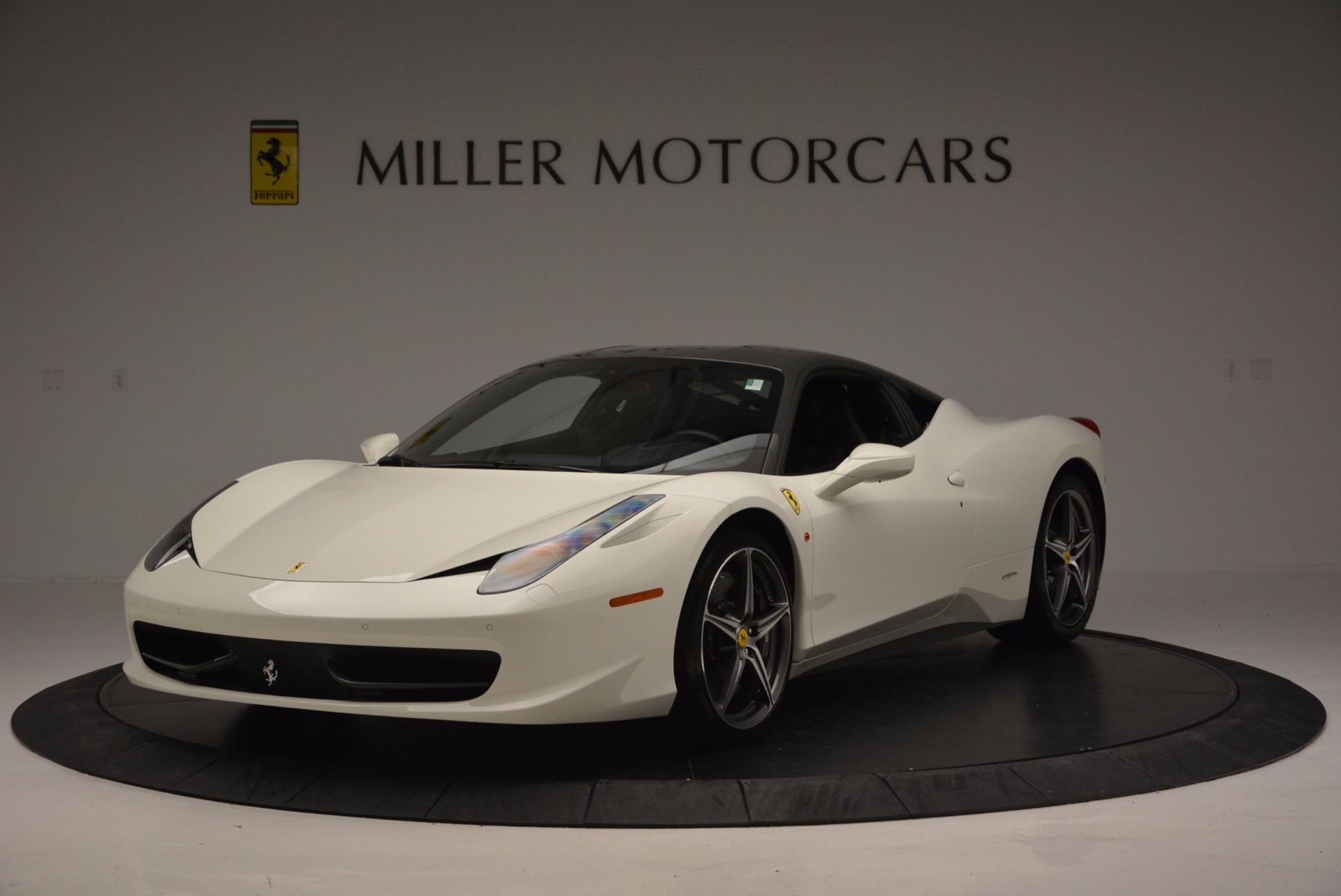 Used 2012 Ferrari 458 Italia  For Sale In Westport, CT 709_main