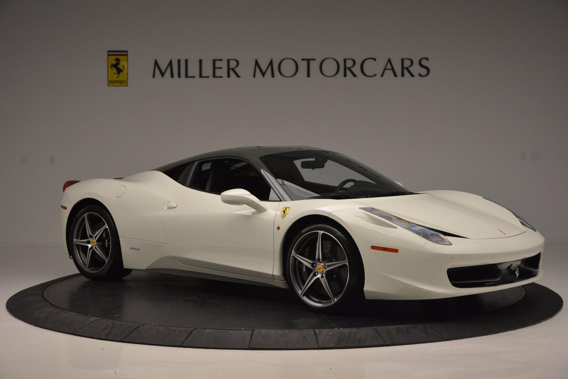 Used 2012 Ferrari 458 Italia  For Sale In Westport, CT 709_p10