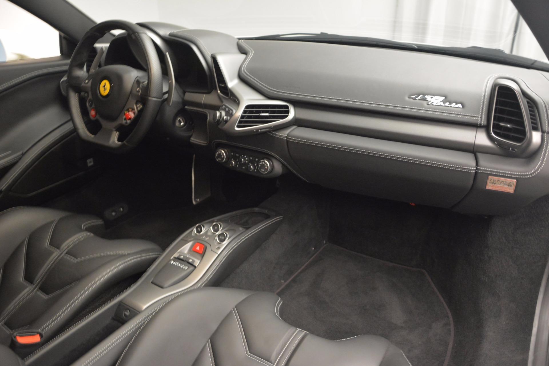 Used 2012 Ferrari 458 Italia  For Sale In Westport, CT 709_p17