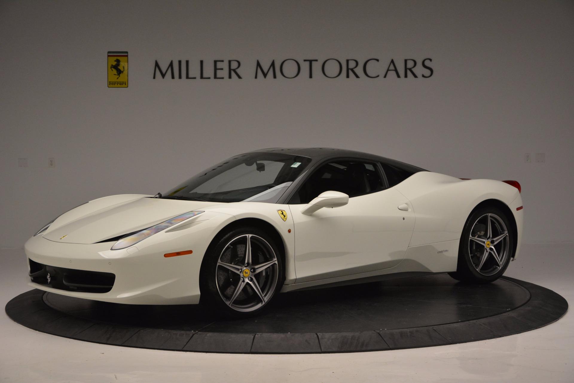Used 2012 Ferrari 458 Italia  For Sale In Westport, CT 709_p2