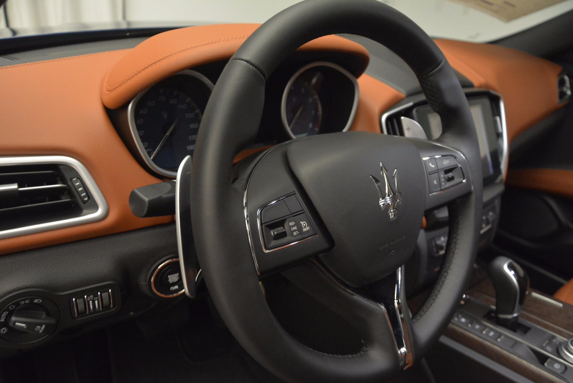 New 2017 Maserati Ghibli S Q4 For Sale In Westport, CT 715_p17