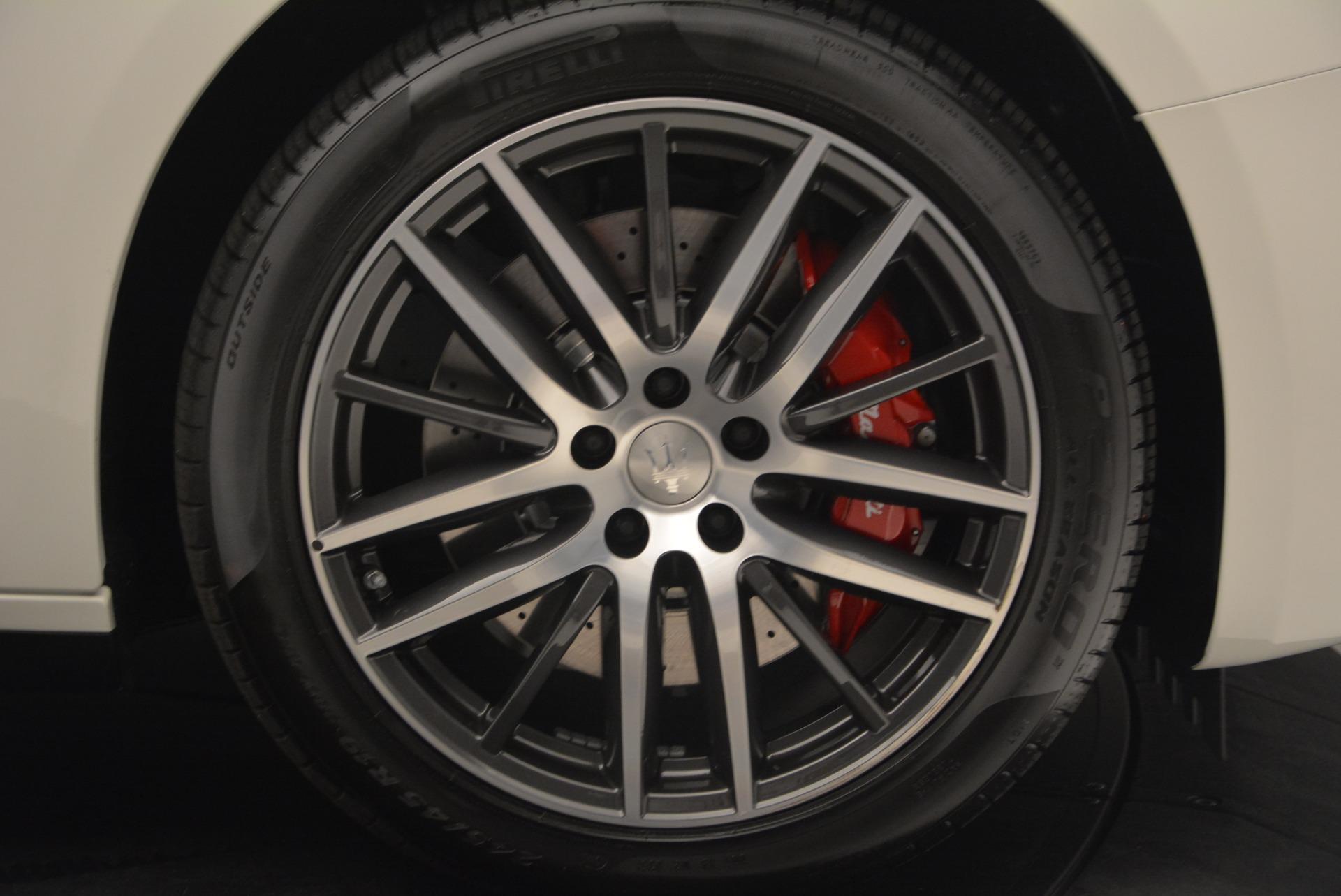Used 2017 Maserati Ghibli S Q4 Ex-Loaner For Sale In Westport, CT 719_p13