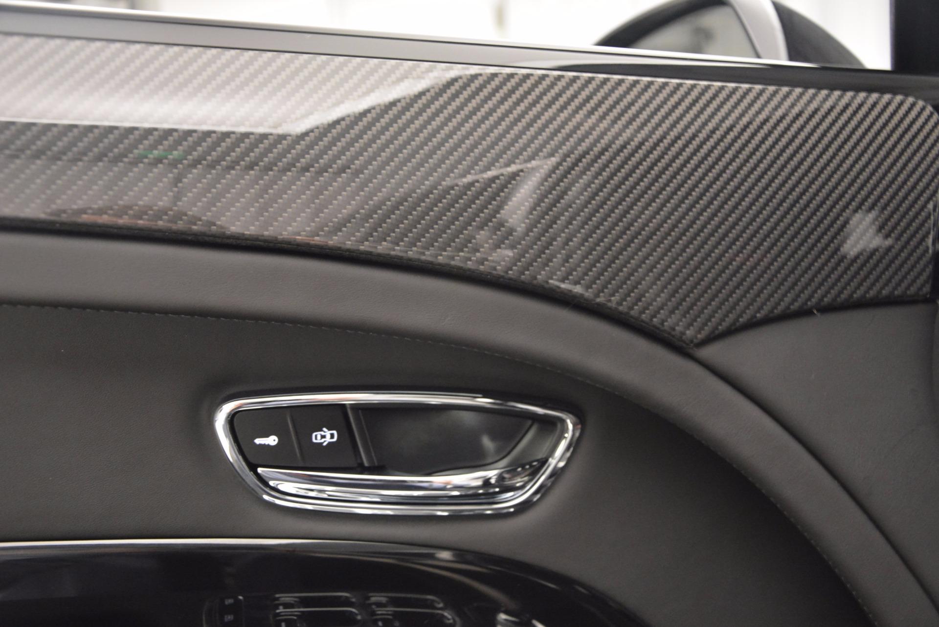 Used 2017 Bentley Mulsanne Speed For Sale In Westport, CT 733_p18