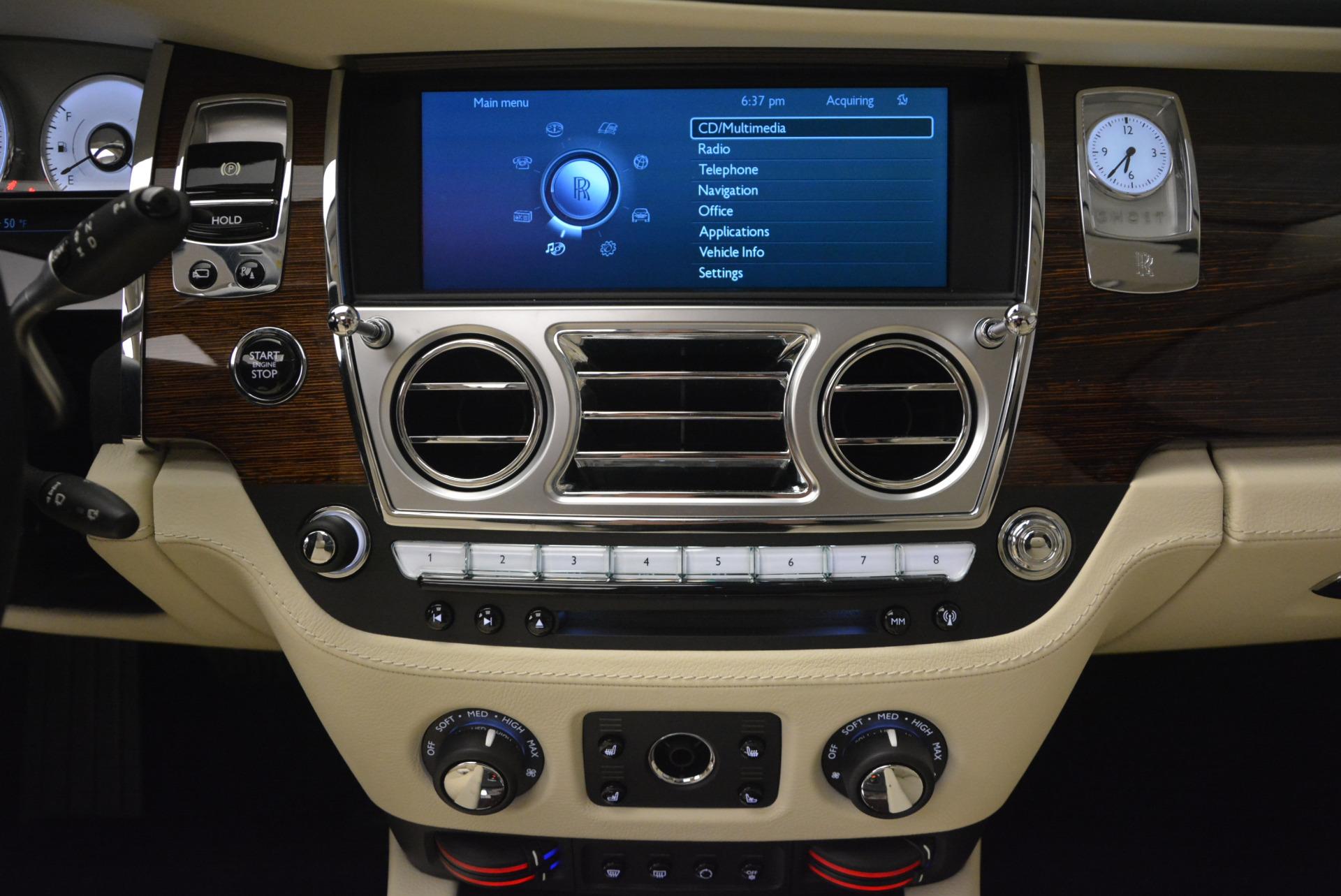 Used 2013 Rolls-Royce Ghost  For Sale In Westport, CT 739_p34