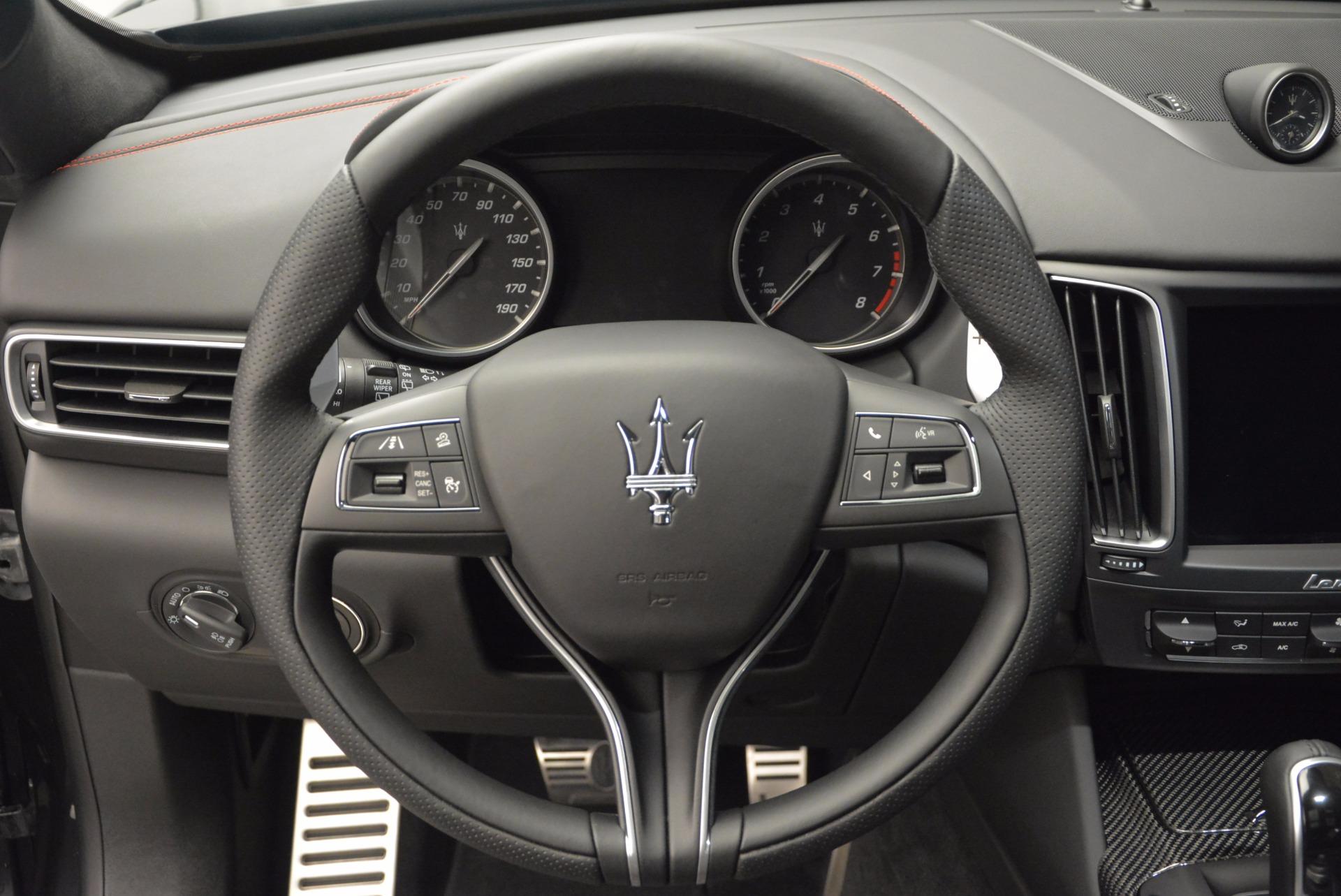 New 2017 Maserati Levante S For Sale In Westport, CT 747_p19