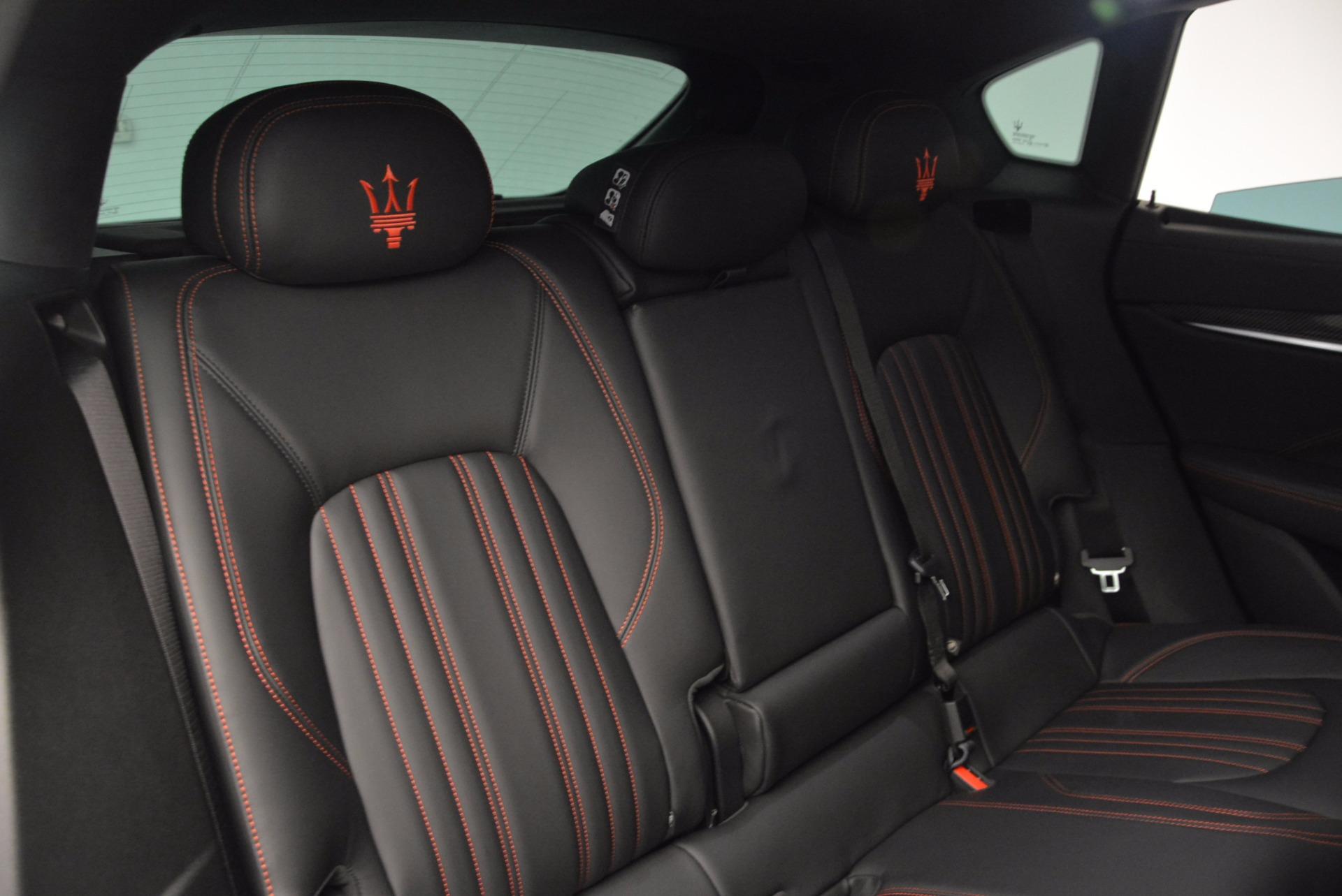 New 2017 Maserati Levante S For Sale In Westport, CT 747_p29