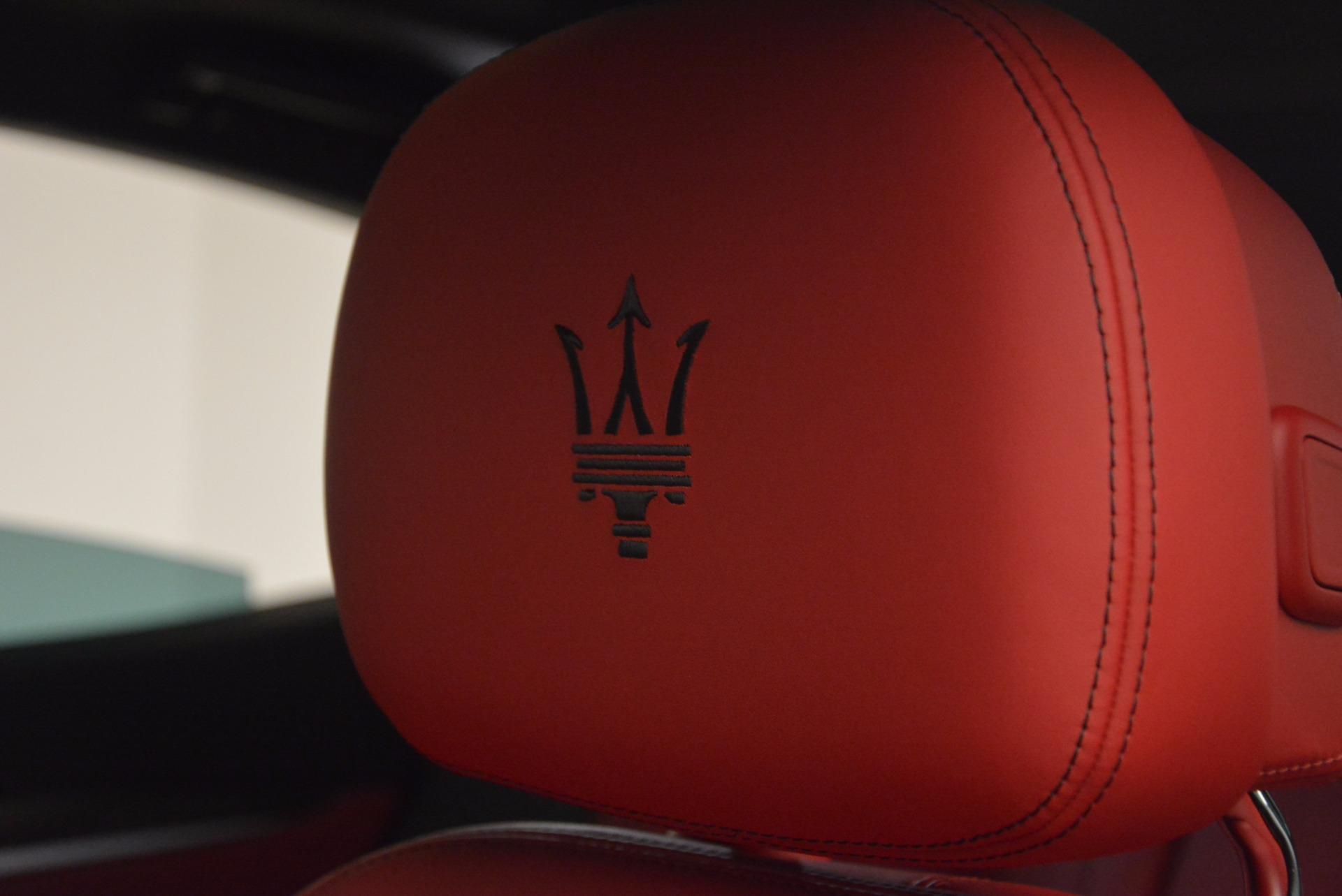 New 2017 Maserati Levante S Q4 For Sale In Westport, CT 770_p19