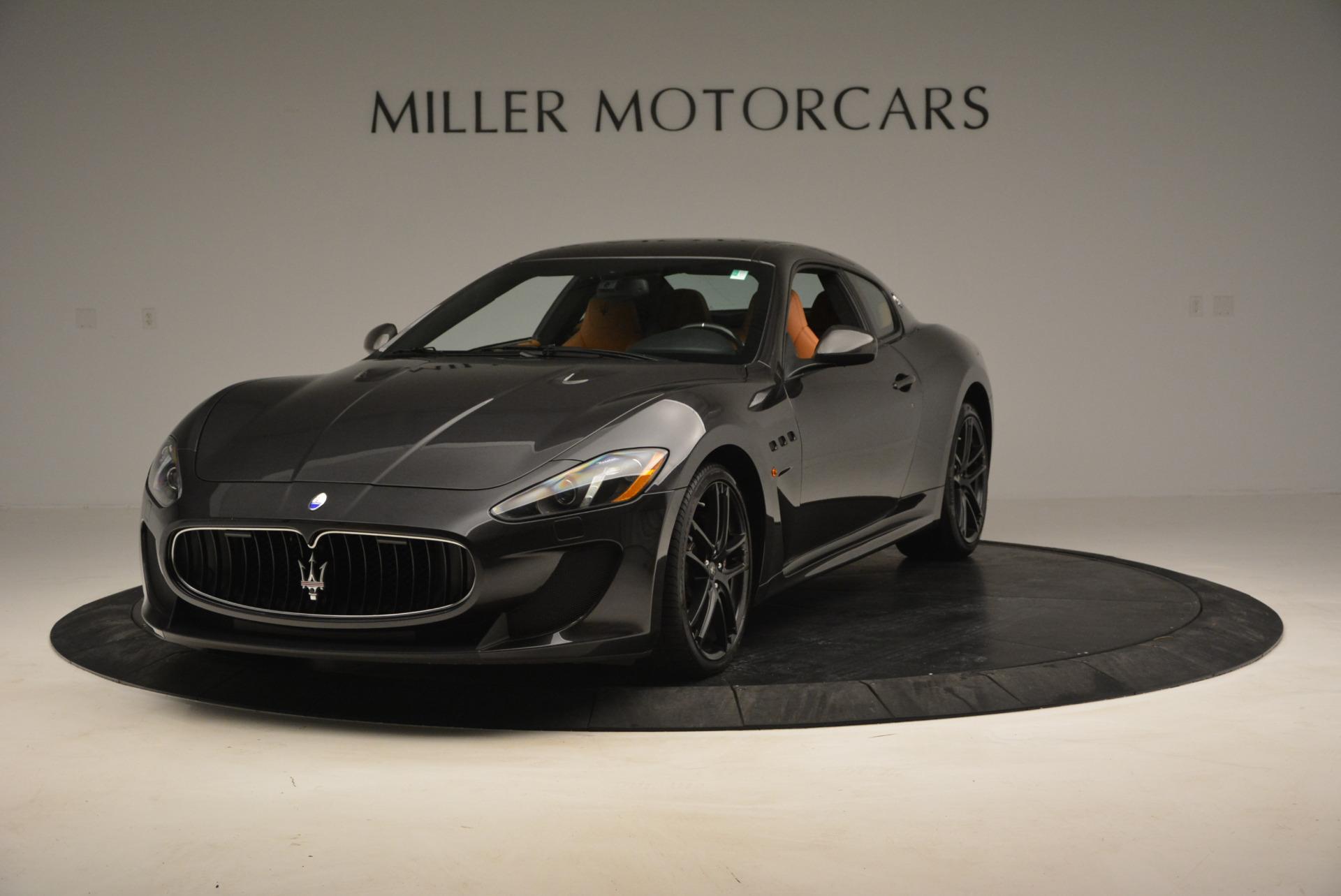 Used 2013 Maserati GranTurismo MC For Sale In Westport, CT 773_main