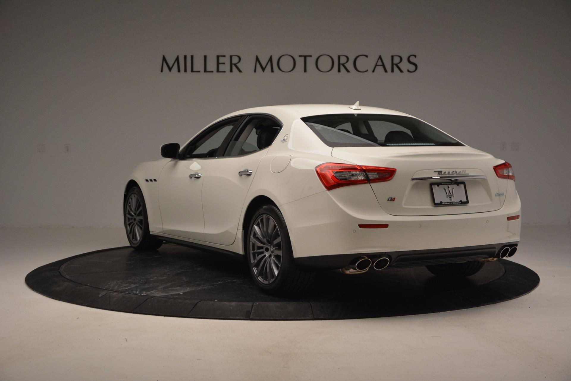Used 2017 Maserati Ghibli S Q4 Ex-Loaner For Sale In Westport, CT 783_p5