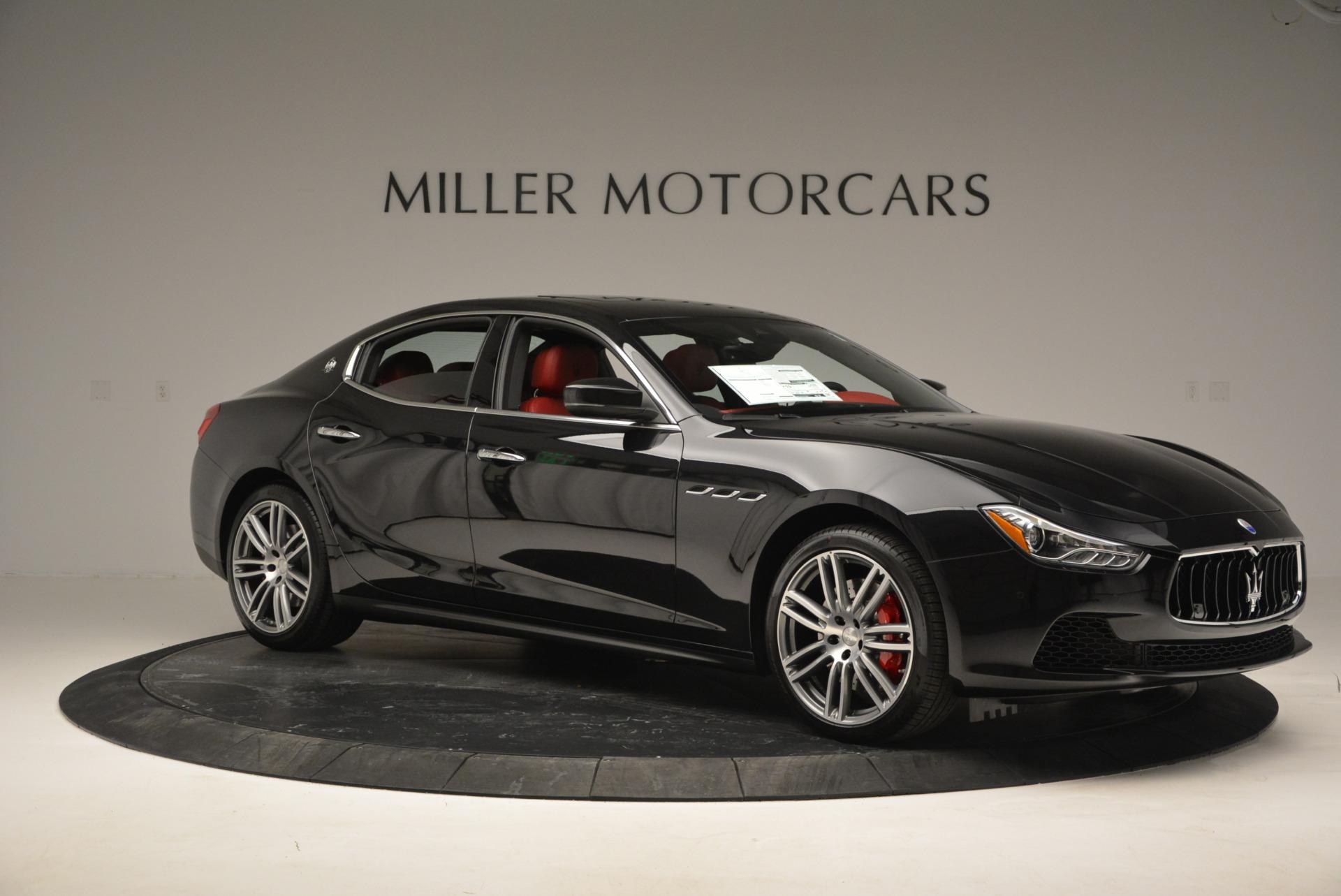 New 2017 Maserati Ghibli S Q4 For Sale In Westport, CT 789_p10
