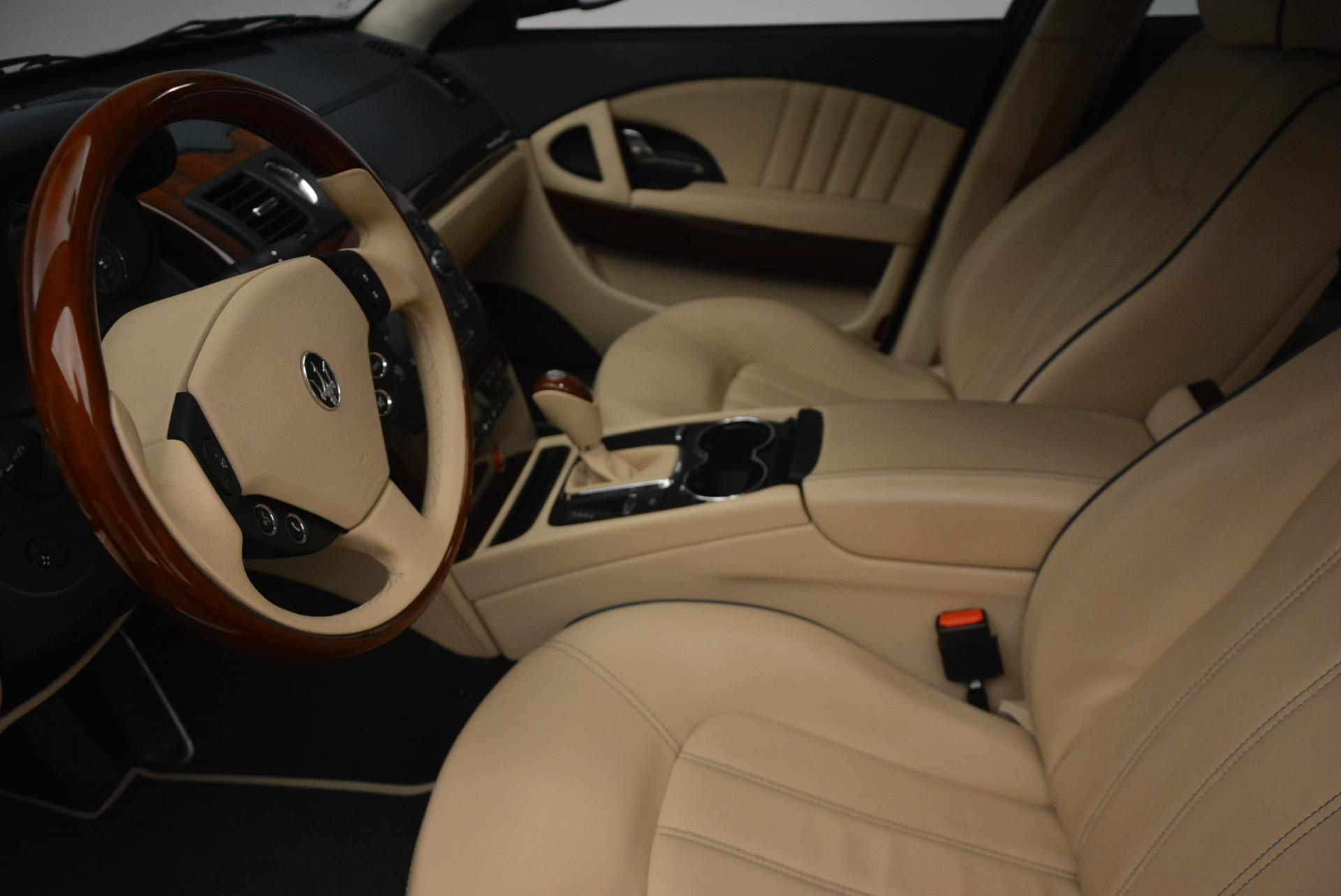Used 2010 Maserati Quattroporte S For Sale In Westport, CT 795_p14