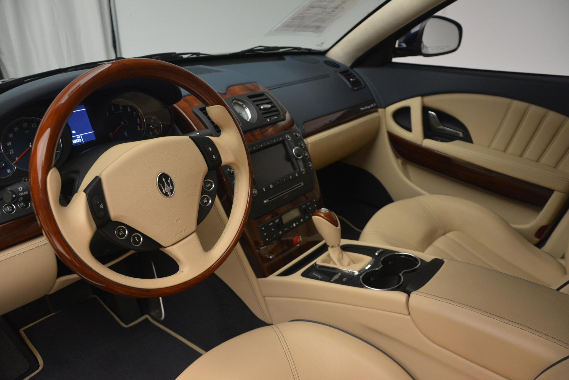 Used 2010 Maserati Quattroporte S For Sale In Westport, CT 795_p15