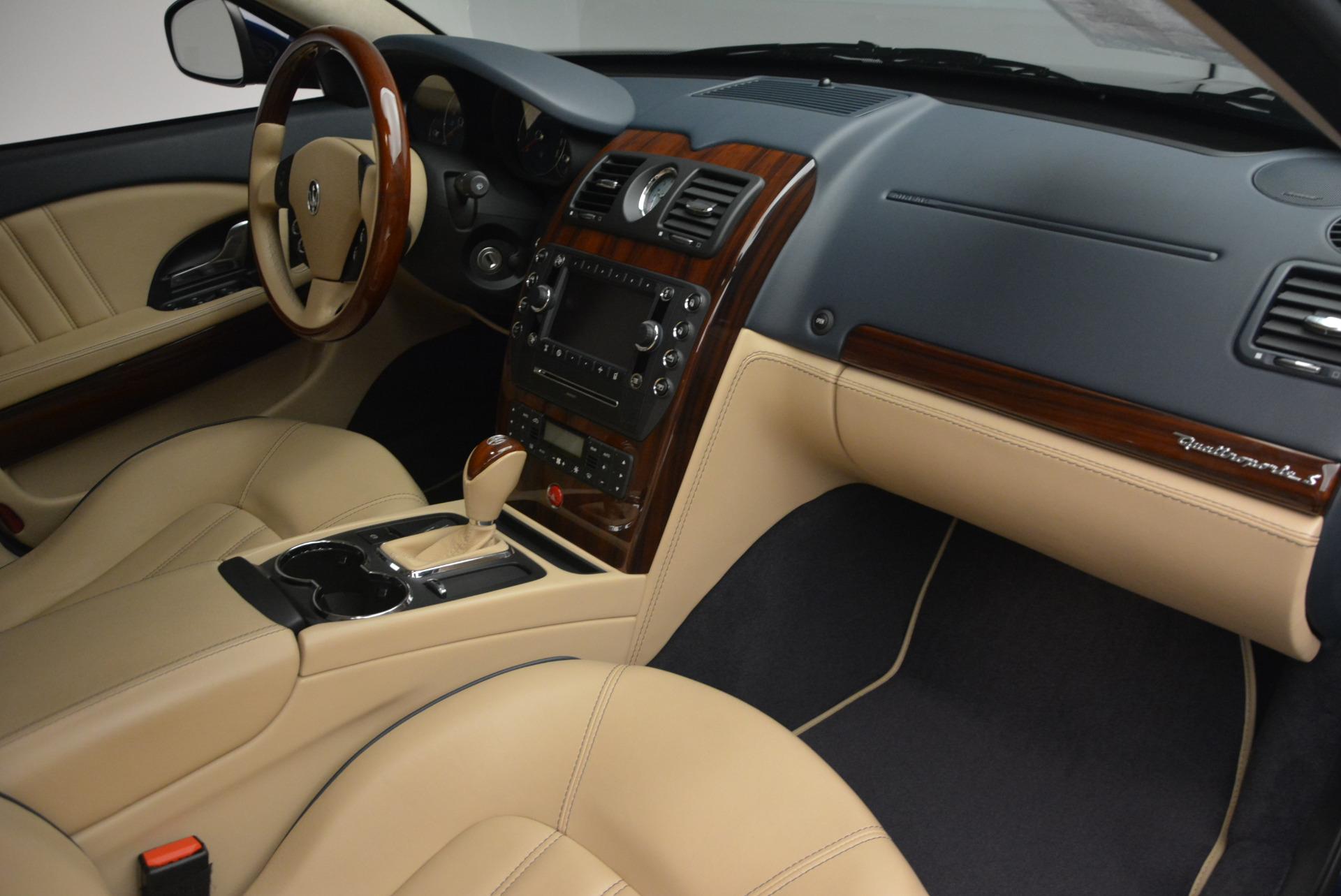 Used 2010 Maserati Quattroporte S For Sale In Westport, CT 795_p19