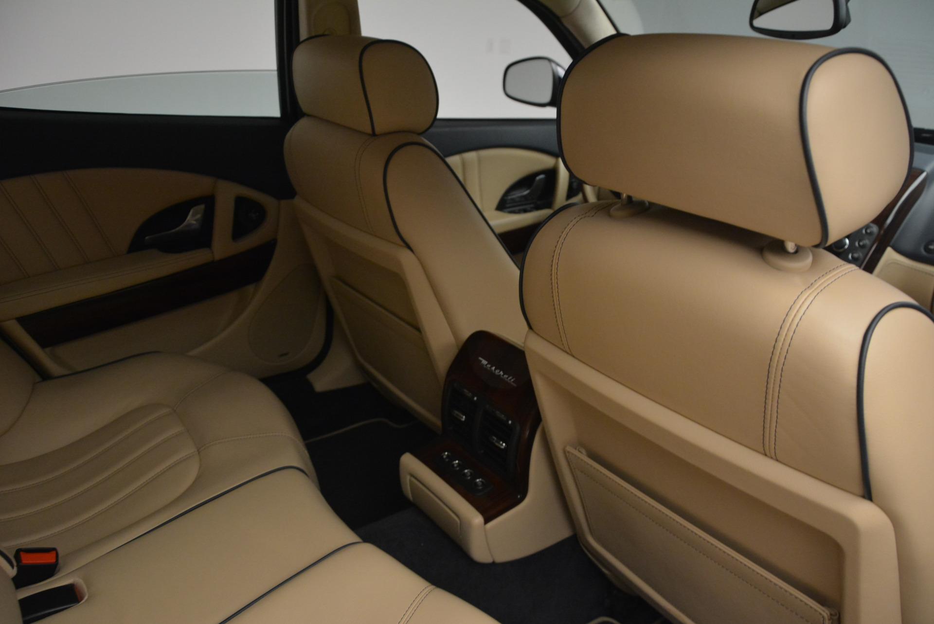 Used 2010 Maserati Quattroporte S For Sale In Westport, CT 795_p22