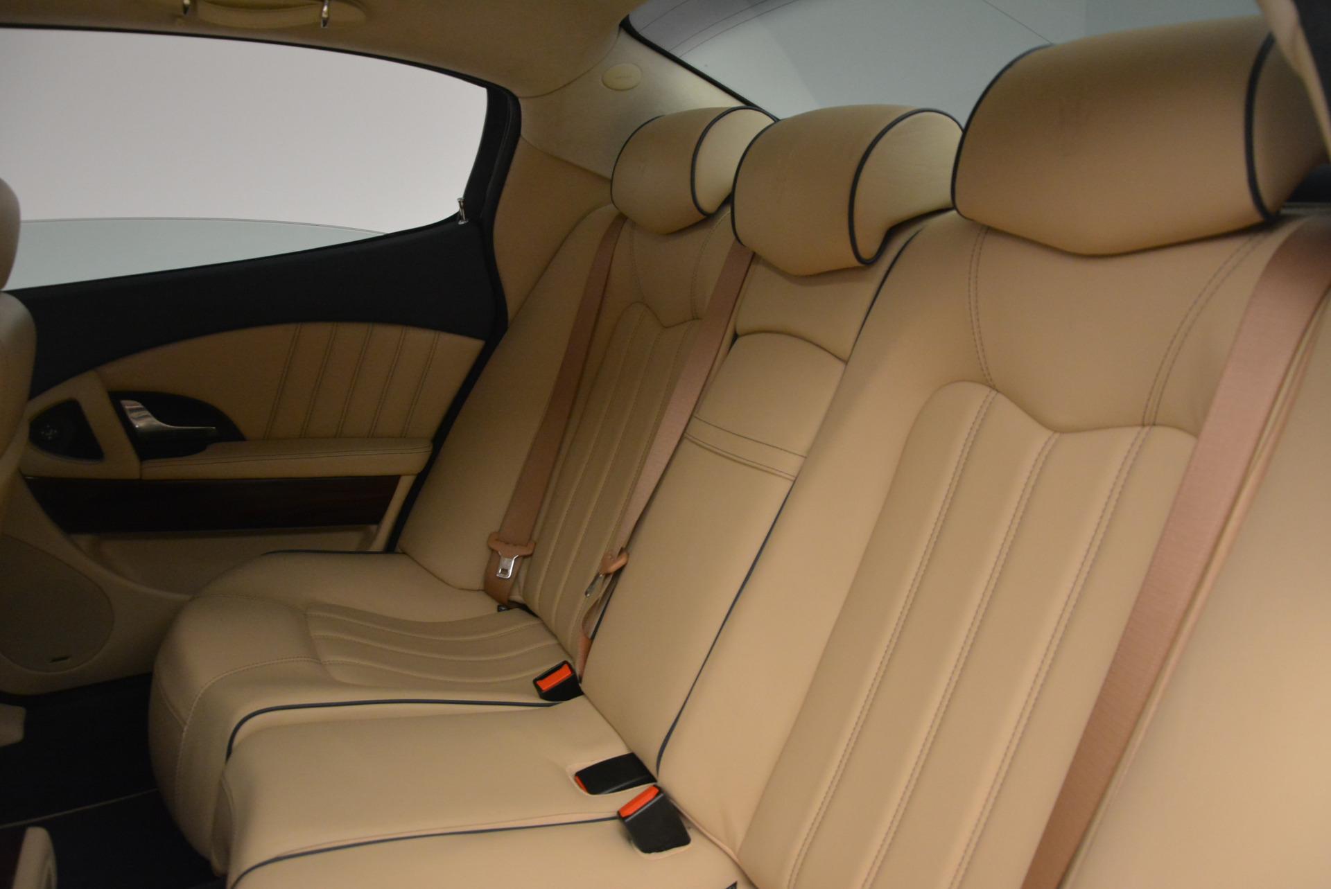 Used 2010 Maserati Quattroporte S For Sale In Westport, CT 795_p23