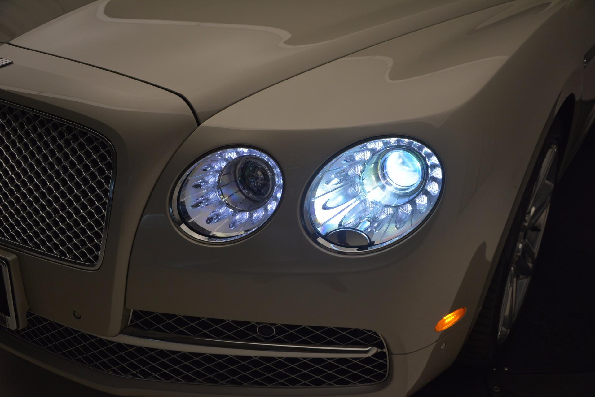 Used 2016 Bentley Flying Spur W12  For Sale In Westport, CT 804_p24