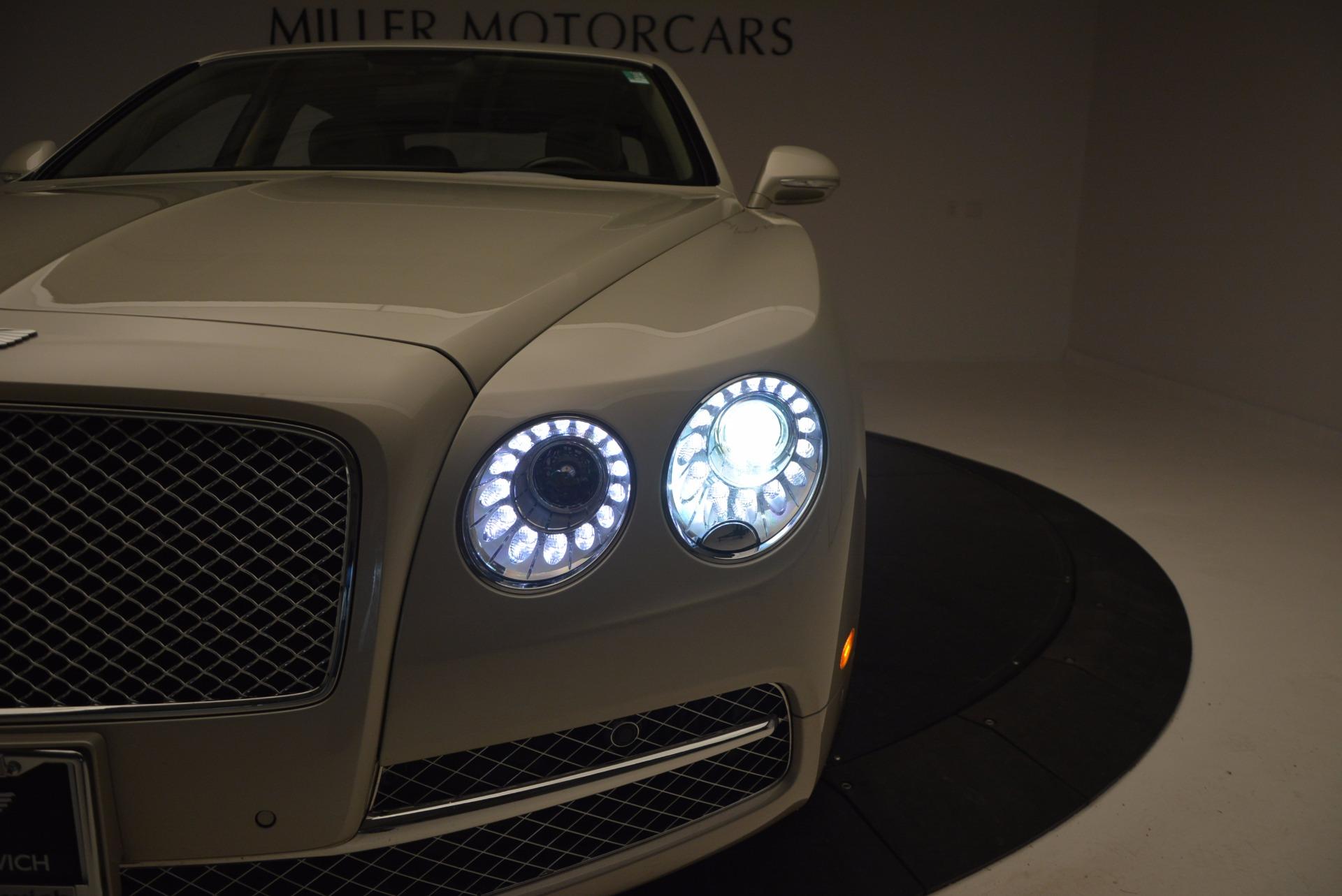 Used 2016 Bentley Flying Spur W12  For Sale In Westport, CT 804_p25