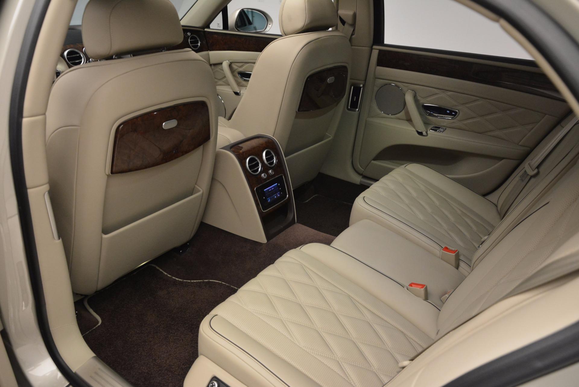 Used 2016 Bentley Flying Spur W12  For Sale In Westport, CT 804_p37