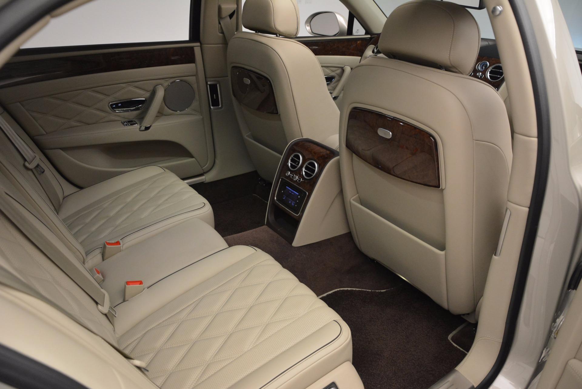 Used 2016 Bentley Flying Spur W12  For Sale In Westport, CT 804_p52