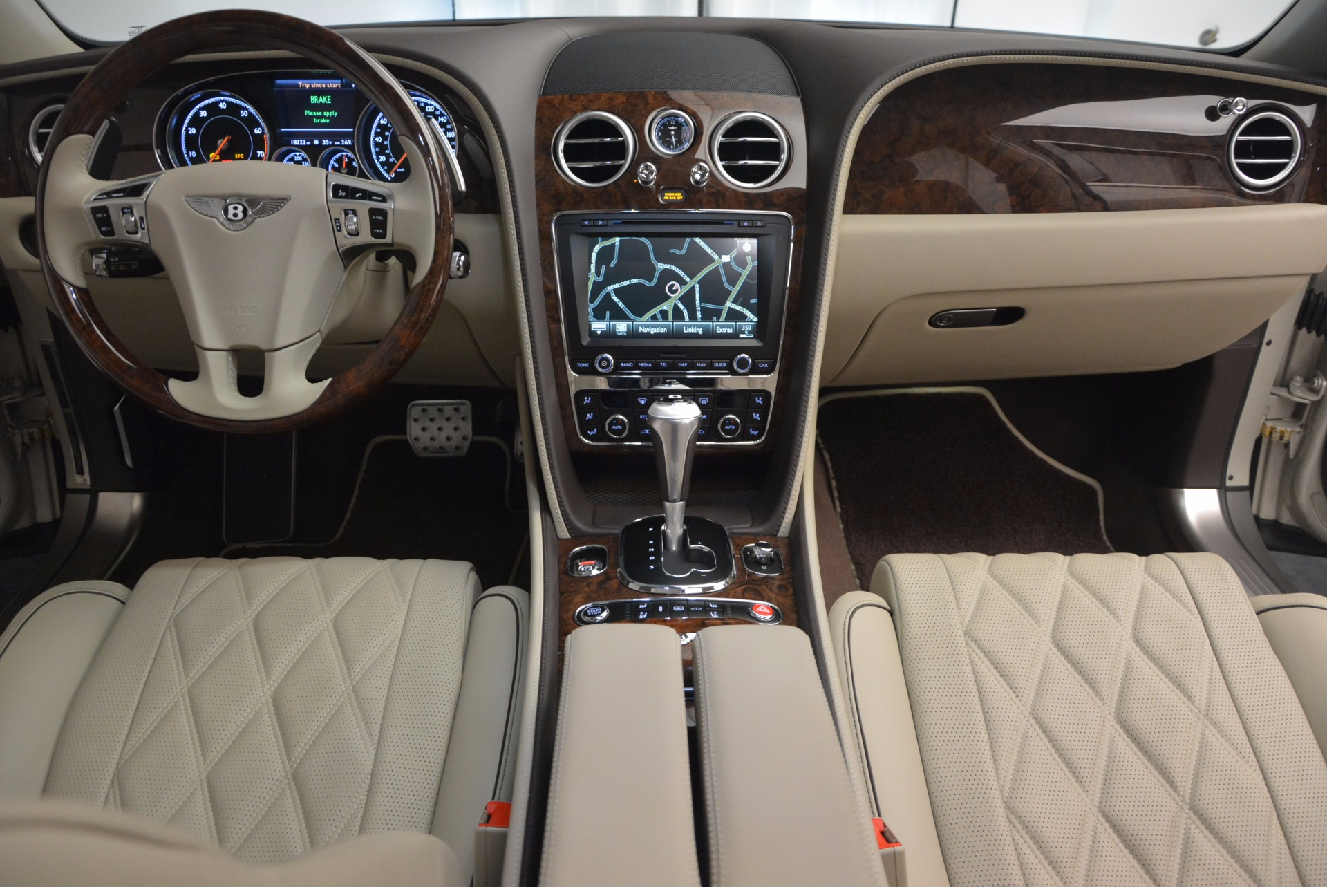 Used 2016 Bentley Flying Spur W12  For Sale In Westport, CT 804_p55