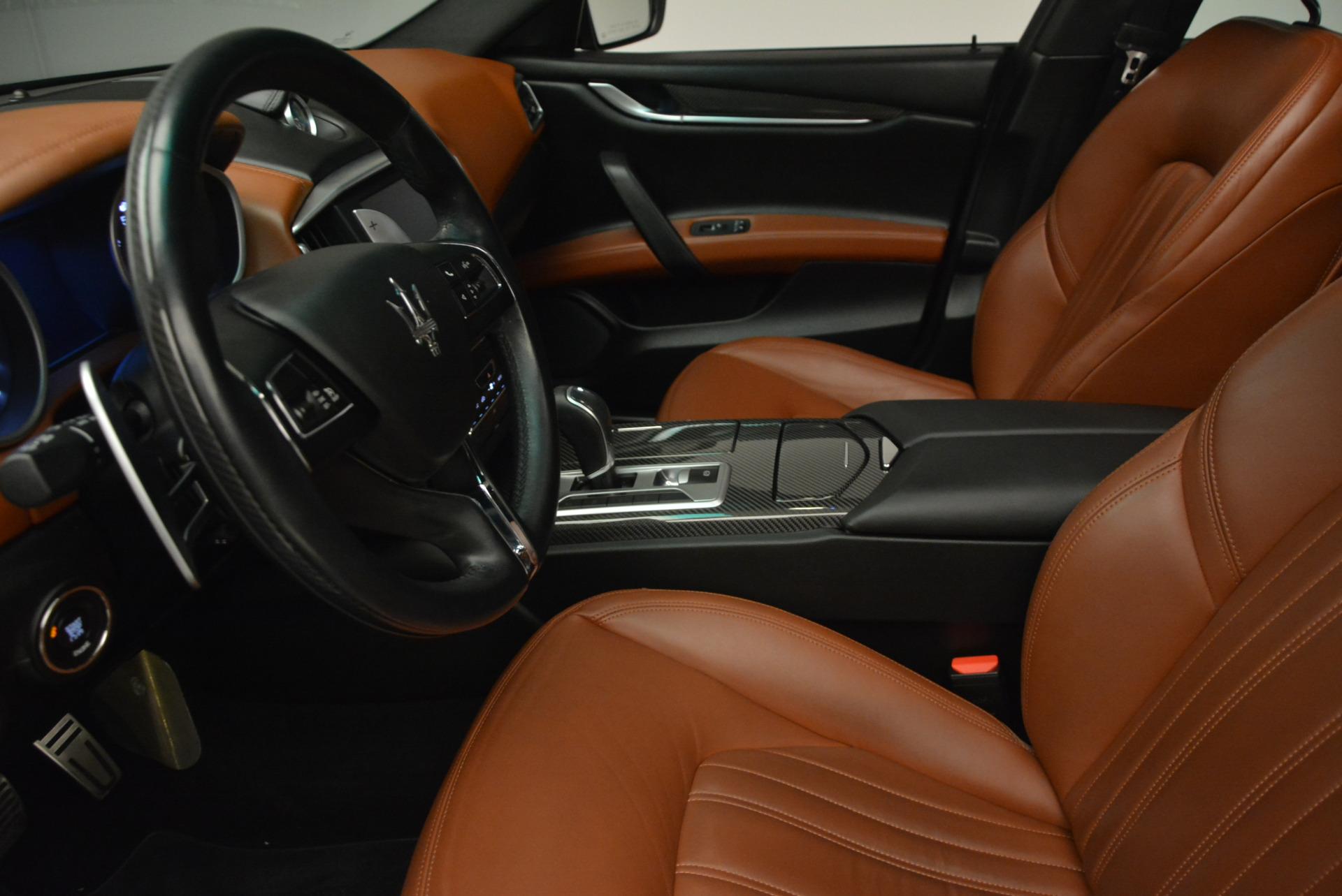 Used 2014 Maserati Ghibli S Q4 For Sale In Westport, CT 805_p14