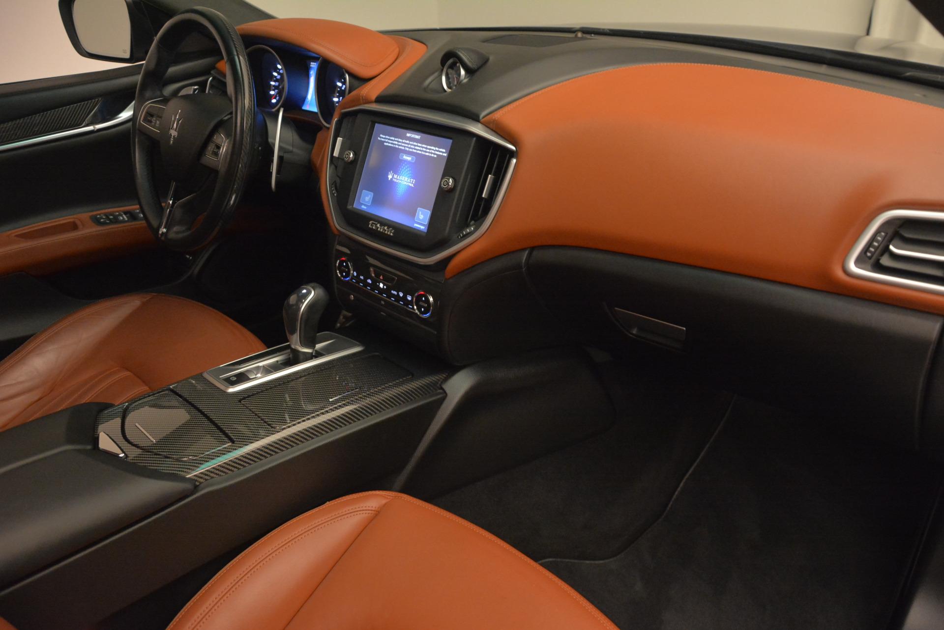 Used 2014 Maserati Ghibli S Q4 For Sale In Westport, CT 805_p20