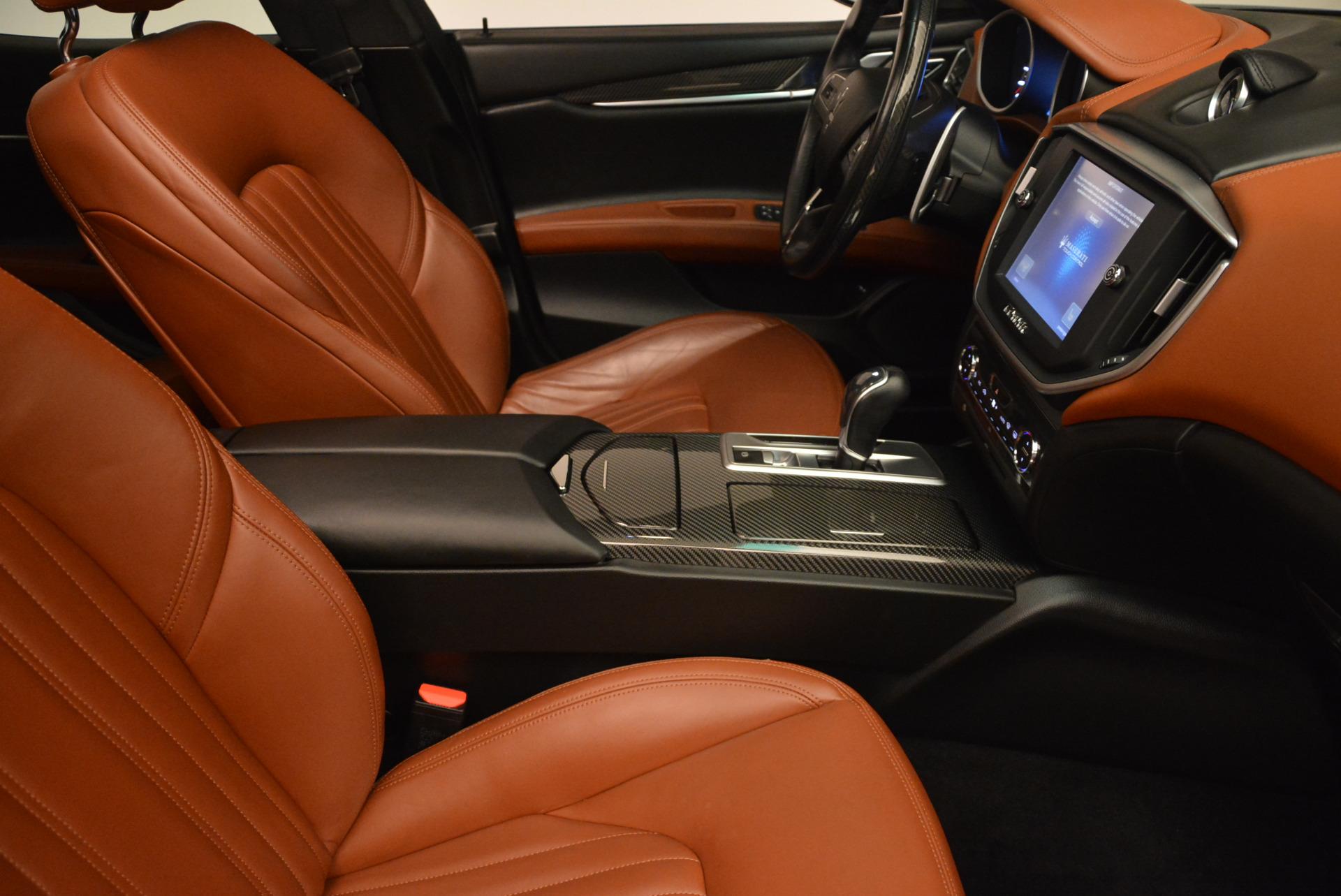 Used 2014 Maserati Ghibli S Q4 For Sale In Westport, CT 805_p21