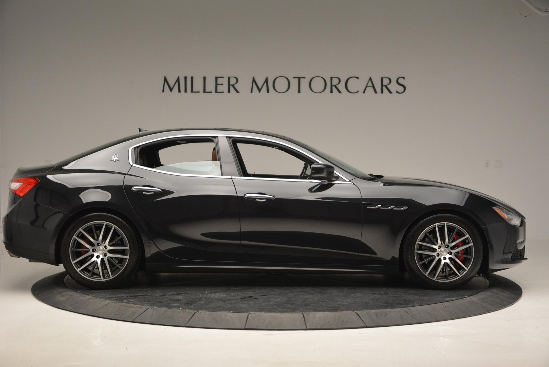 Used 2014 Maserati Ghibli S Q4 For Sale In Westport, CT 805_p9