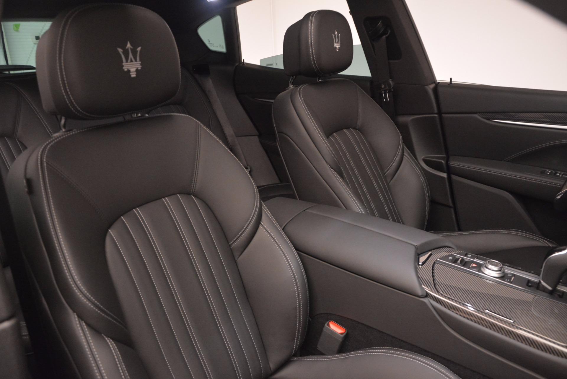 New 2017 Maserati Levante S Q4 For Sale In Westport, CT 811_p22