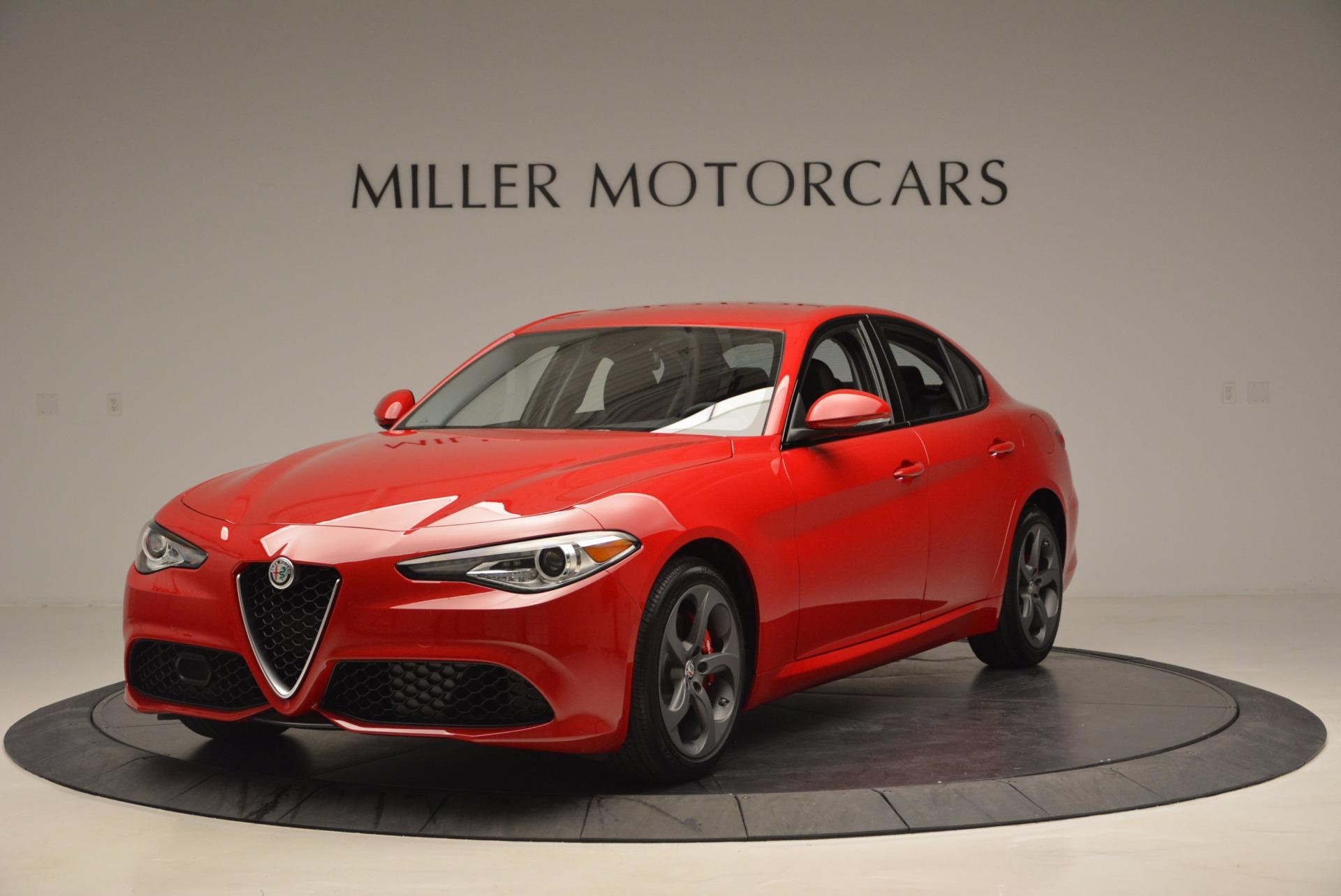 New 2017 Alfa Romeo Giulia  For Sale In Westport, CT 826_main