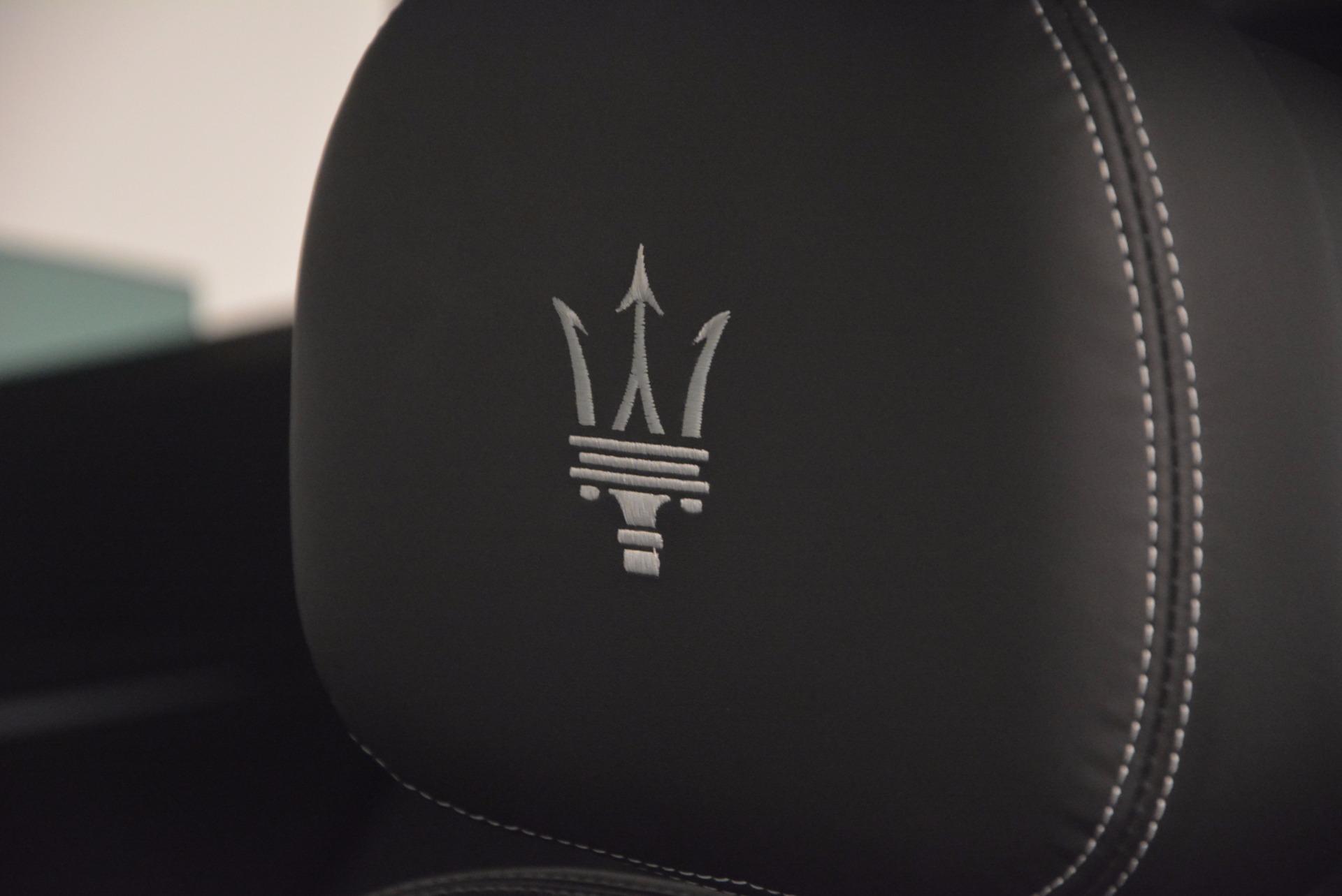 New 2017 Maserati Levante S Q4 For Sale In Westport, CT 847_p20