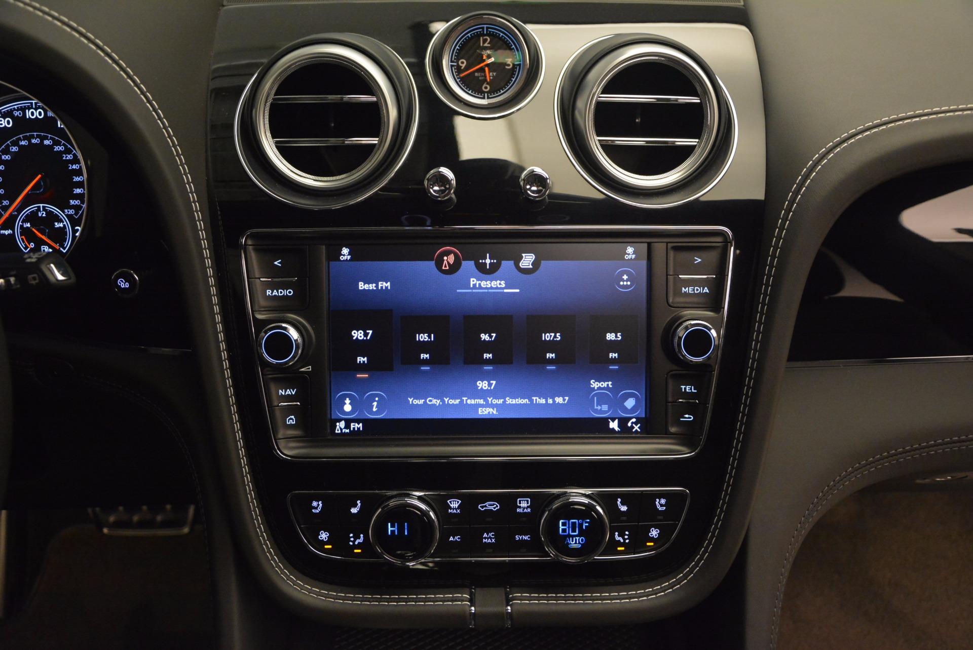 Used 2017 Bentley Bentayga  For Sale In Westport, CT 853_p48