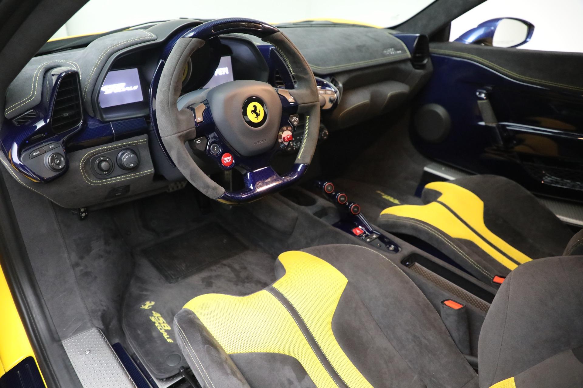 Used 2015 Ferrari 458 Speciale  For Sale In Westport, CT 857_p13