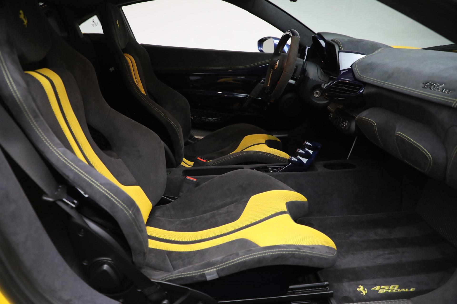 Used 2015 Ferrari 458 Speciale  For Sale In Westport, CT 857_p17