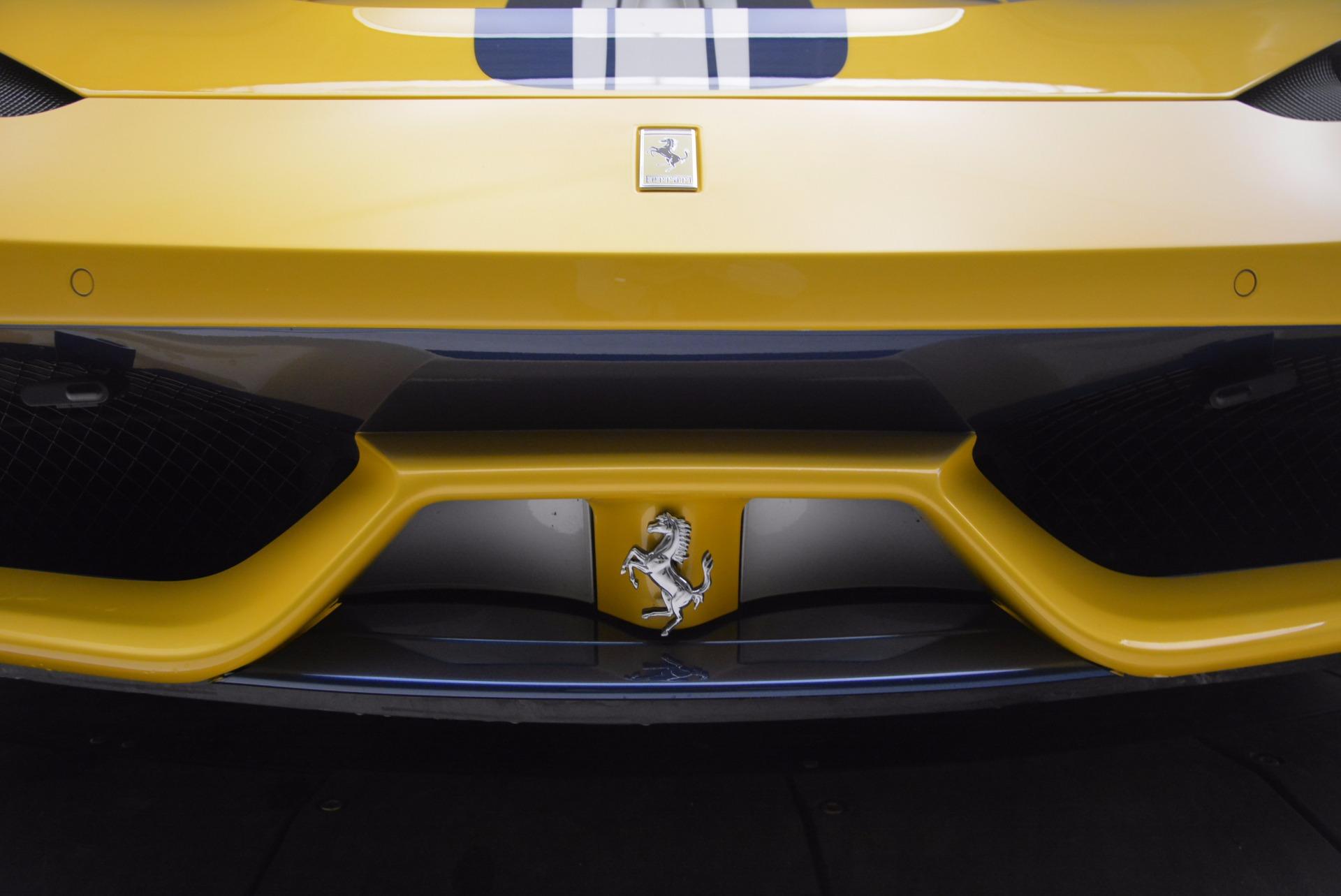 Used 2015 Ferrari 458 Speciale  For Sale In Westport, CT 857_p26