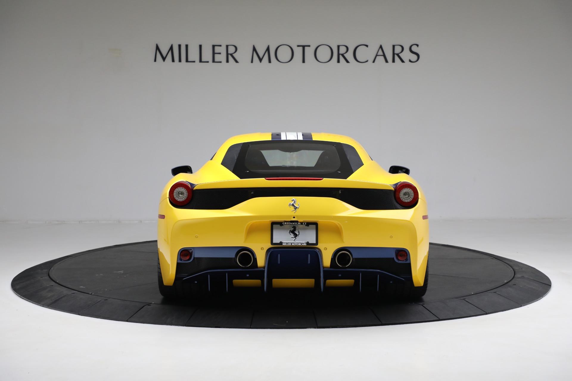 Used 2015 Ferrari 458 Speciale  For Sale In Westport, CT 857_p6