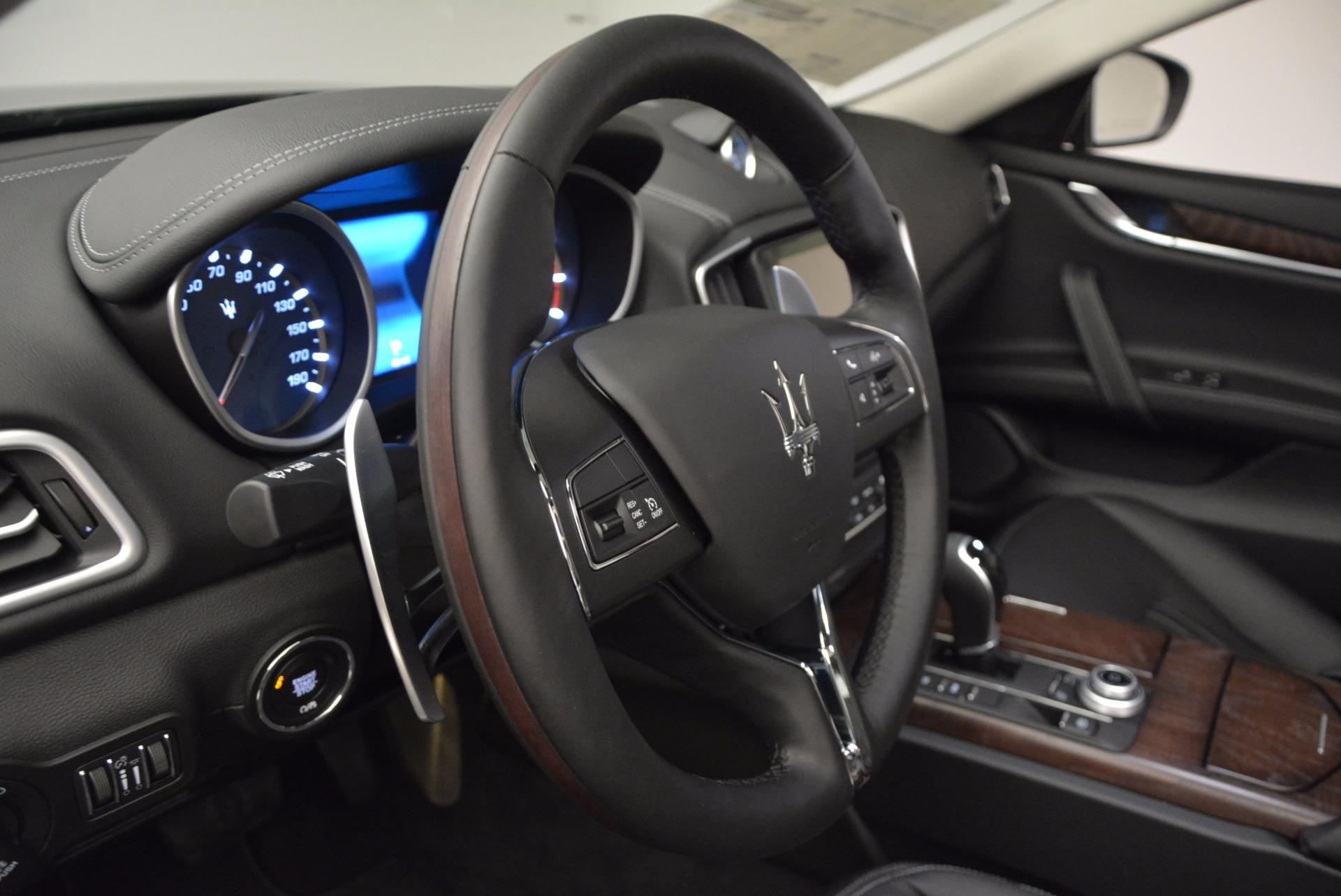 New 2017 Maserati Ghibli S Q4 For Sale In Westport, CT 872_p15