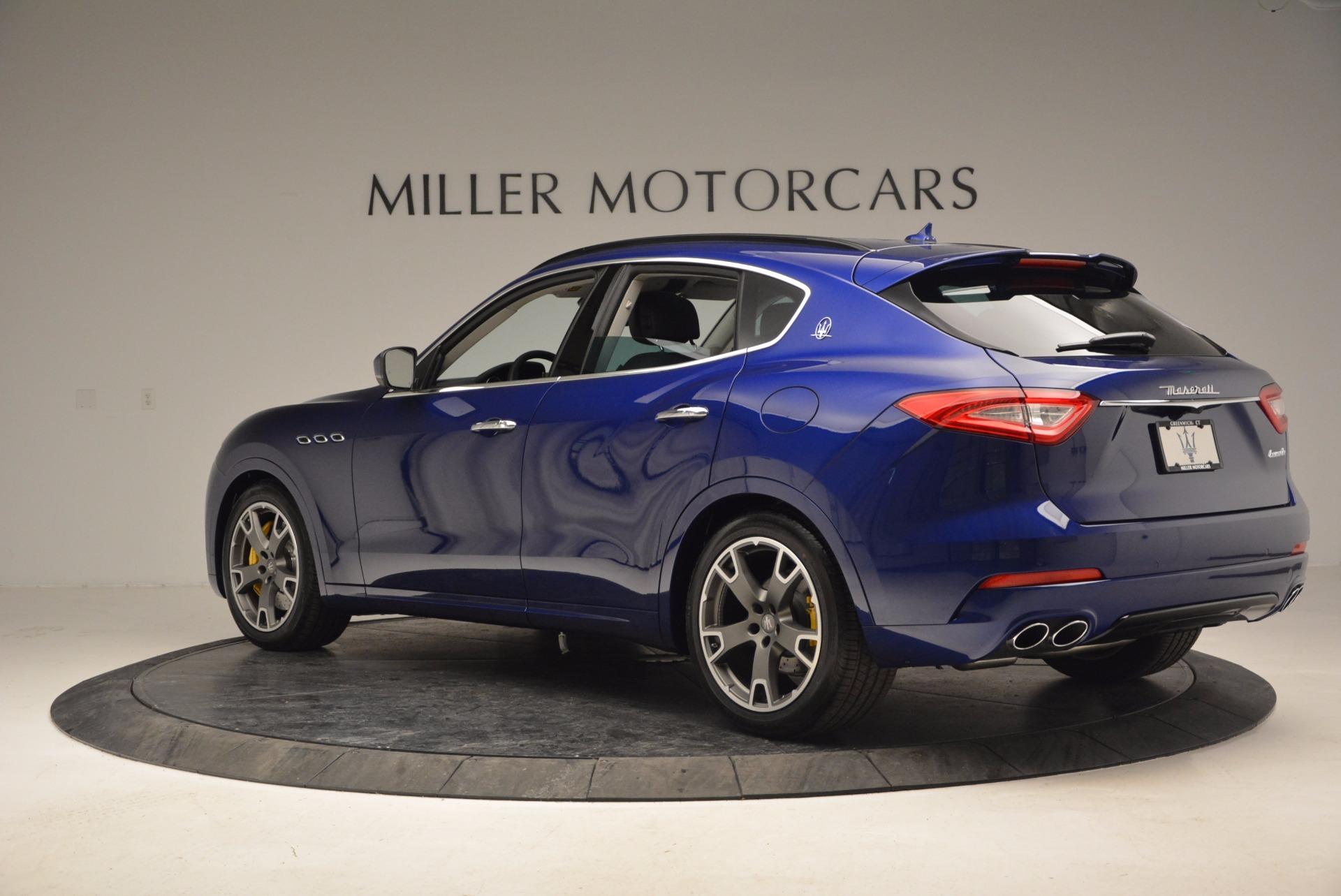 New 2017 Maserati Levante  For Sale In Westport, CT 878_p4